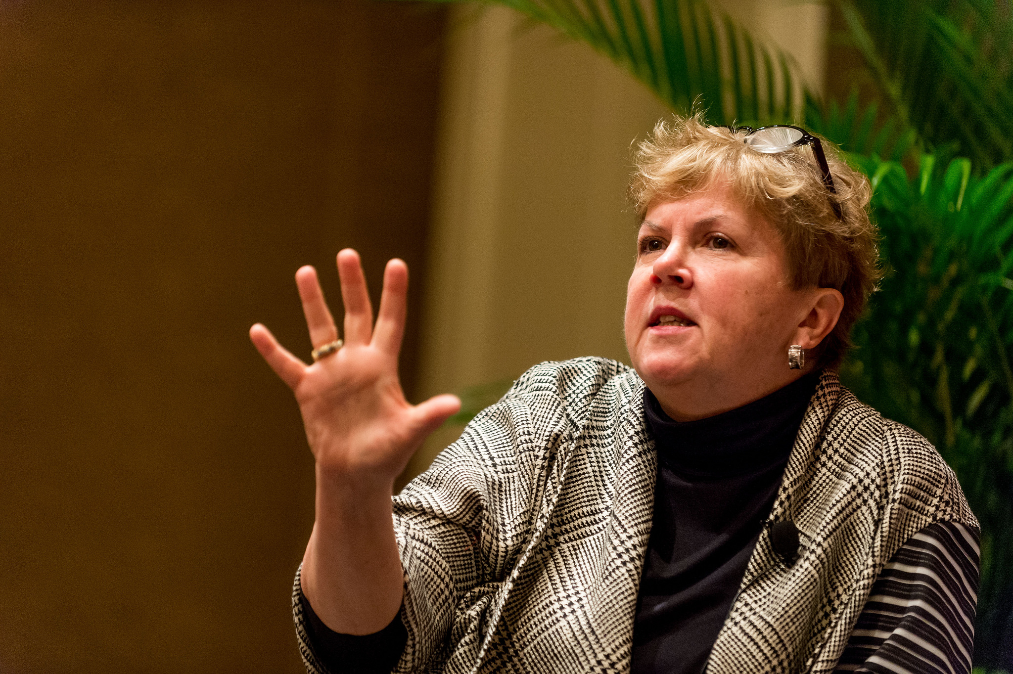 Jane Holl Lute, CEO of the Center for Internet Security at Fortune's Most Powerful Women Summit