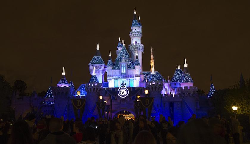 Sleeping Beauty's Castle at Disneyland in Anaheim, Calif.