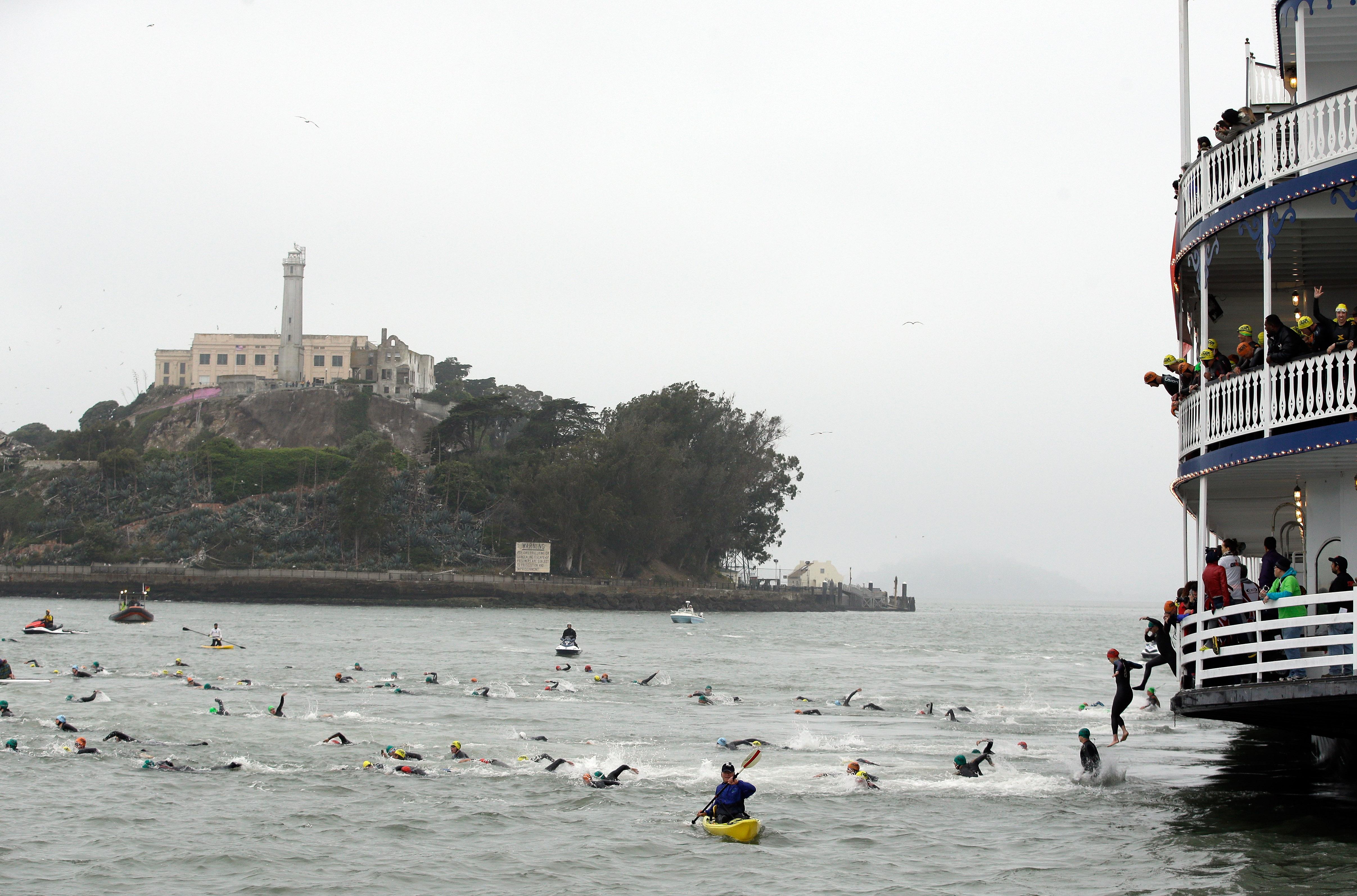 2014 Escape from Alcatraz Triathlon