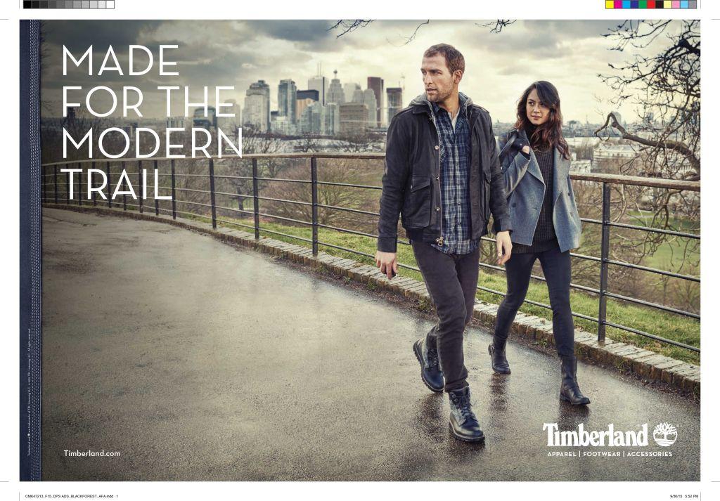Timberland Ad