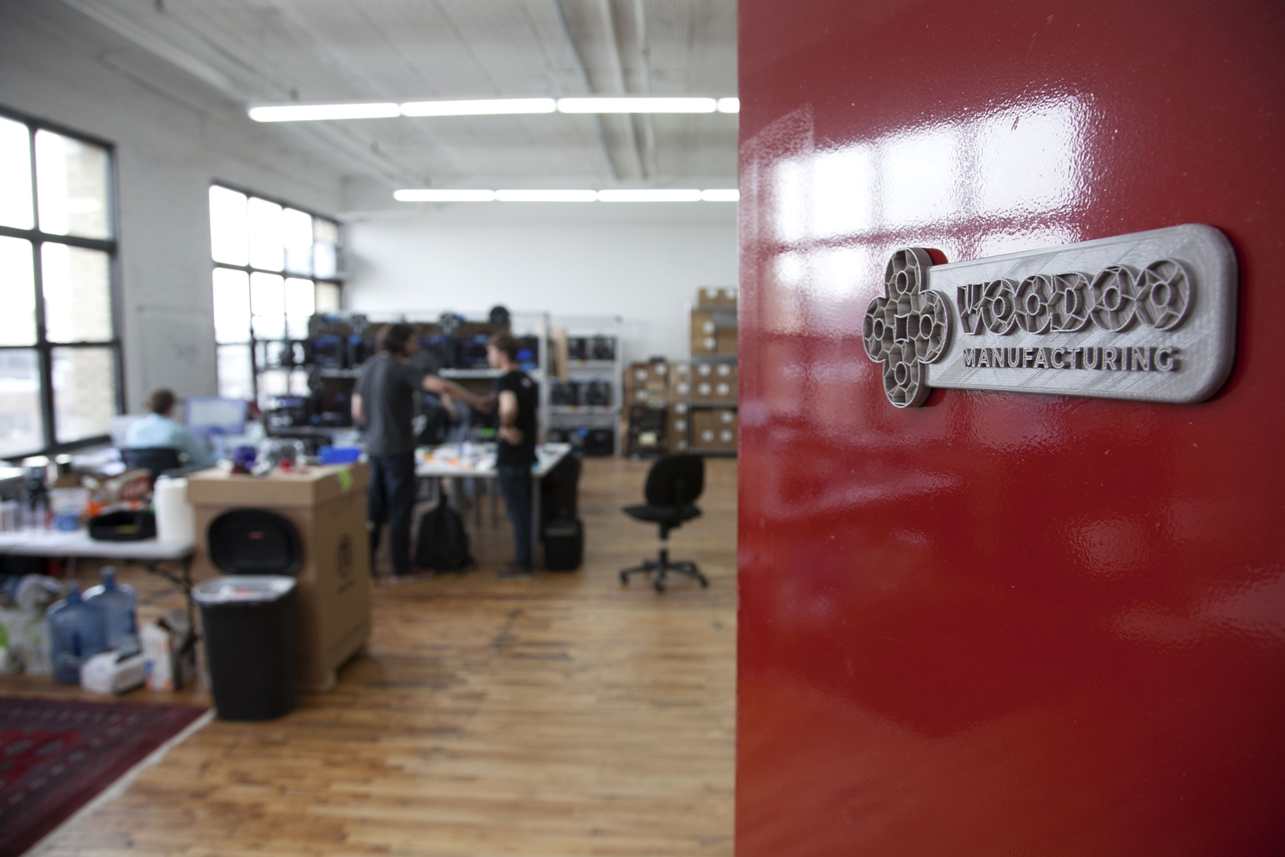 MakerBot spins off commercial 3D-printing service Voodoo