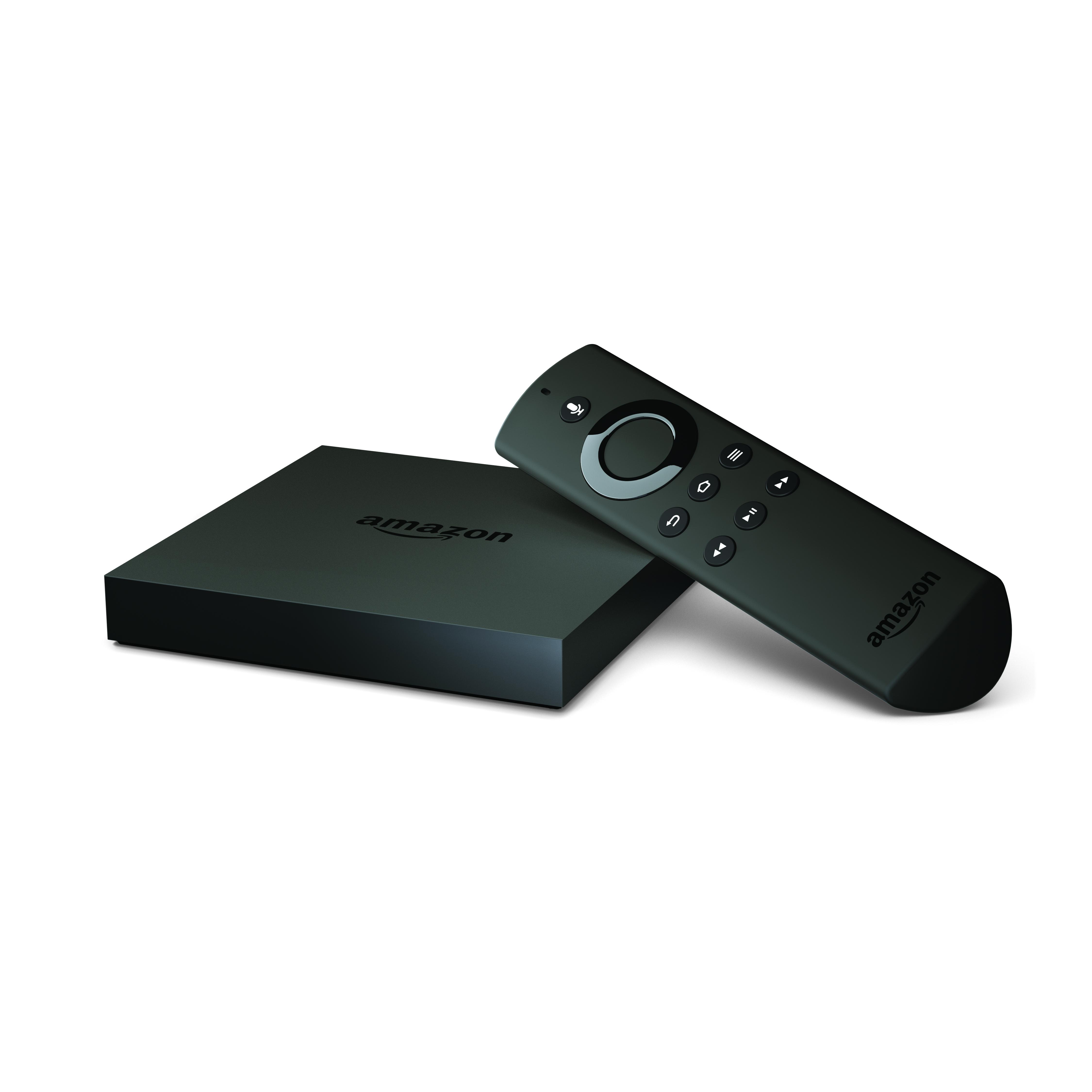 Amazon's new Fire TV.