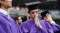 New York University Holds Commencement Ceremony At Yankee Stadium