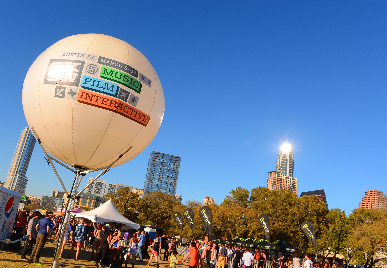 The SXSW Music, Film + Interactive Festival in Austin, Texas.