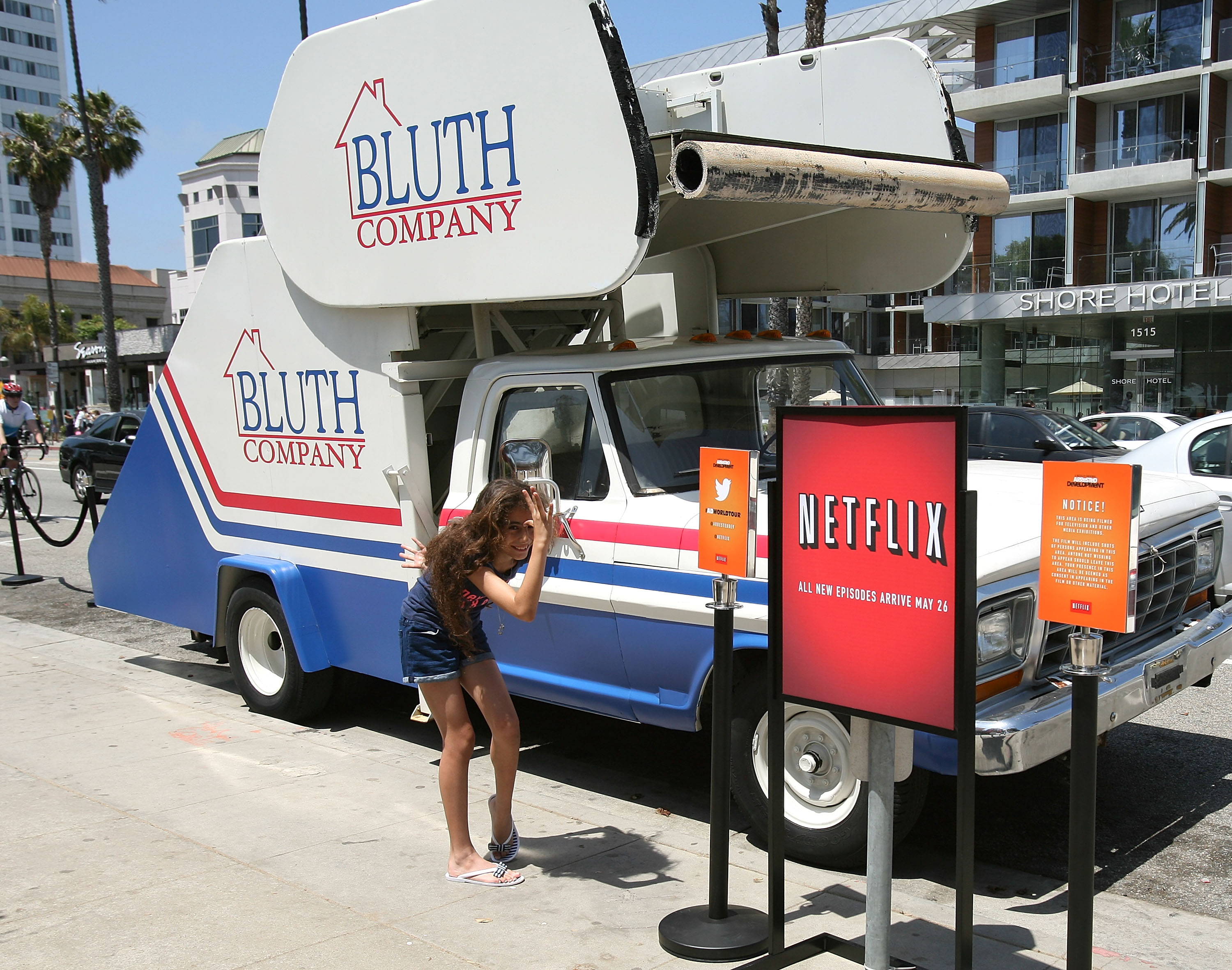 """Arrested Development"" Bluth Stair Car At Santa Monica Pier"
