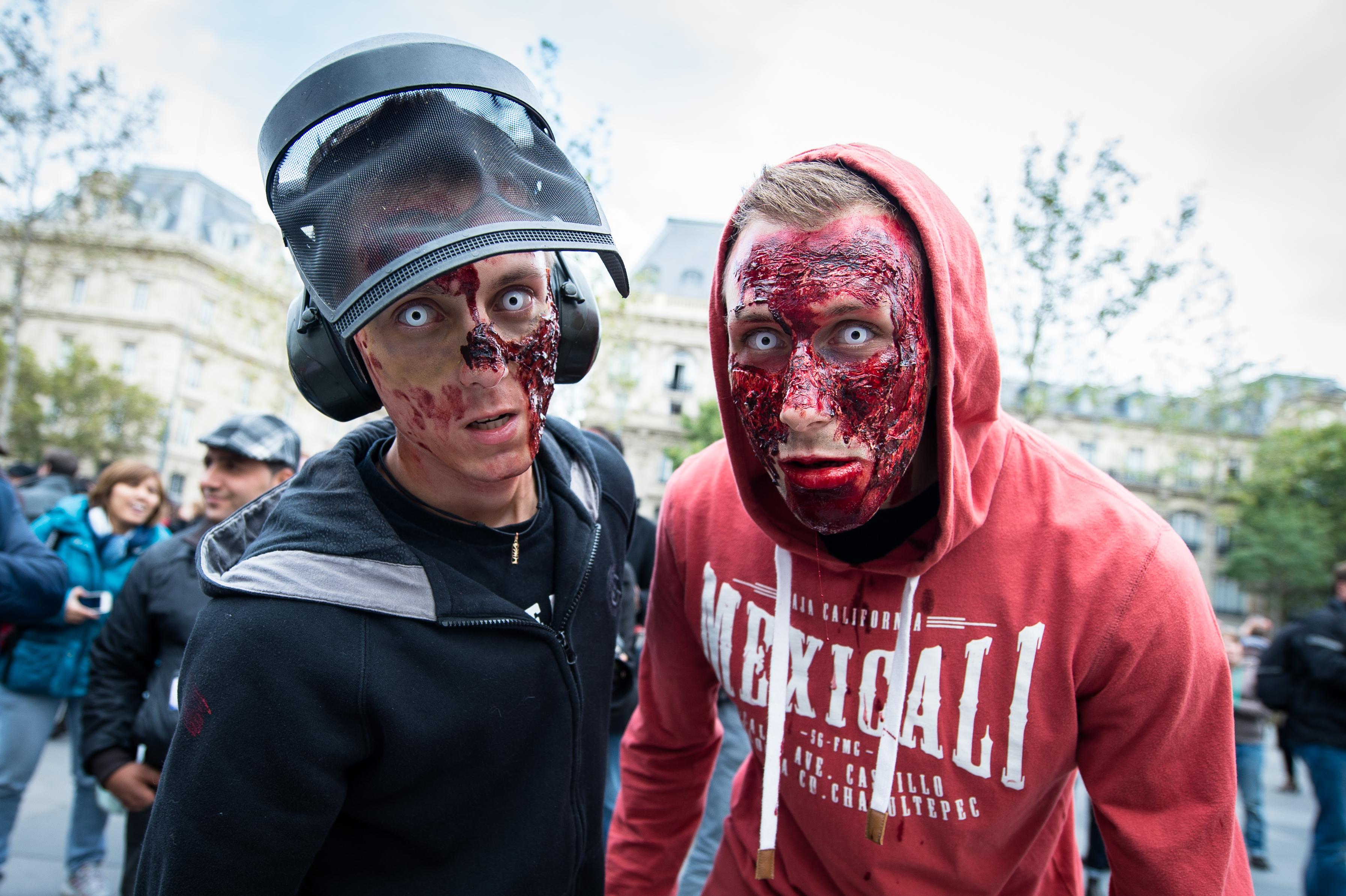 Annual Zombie Walk In Paris
