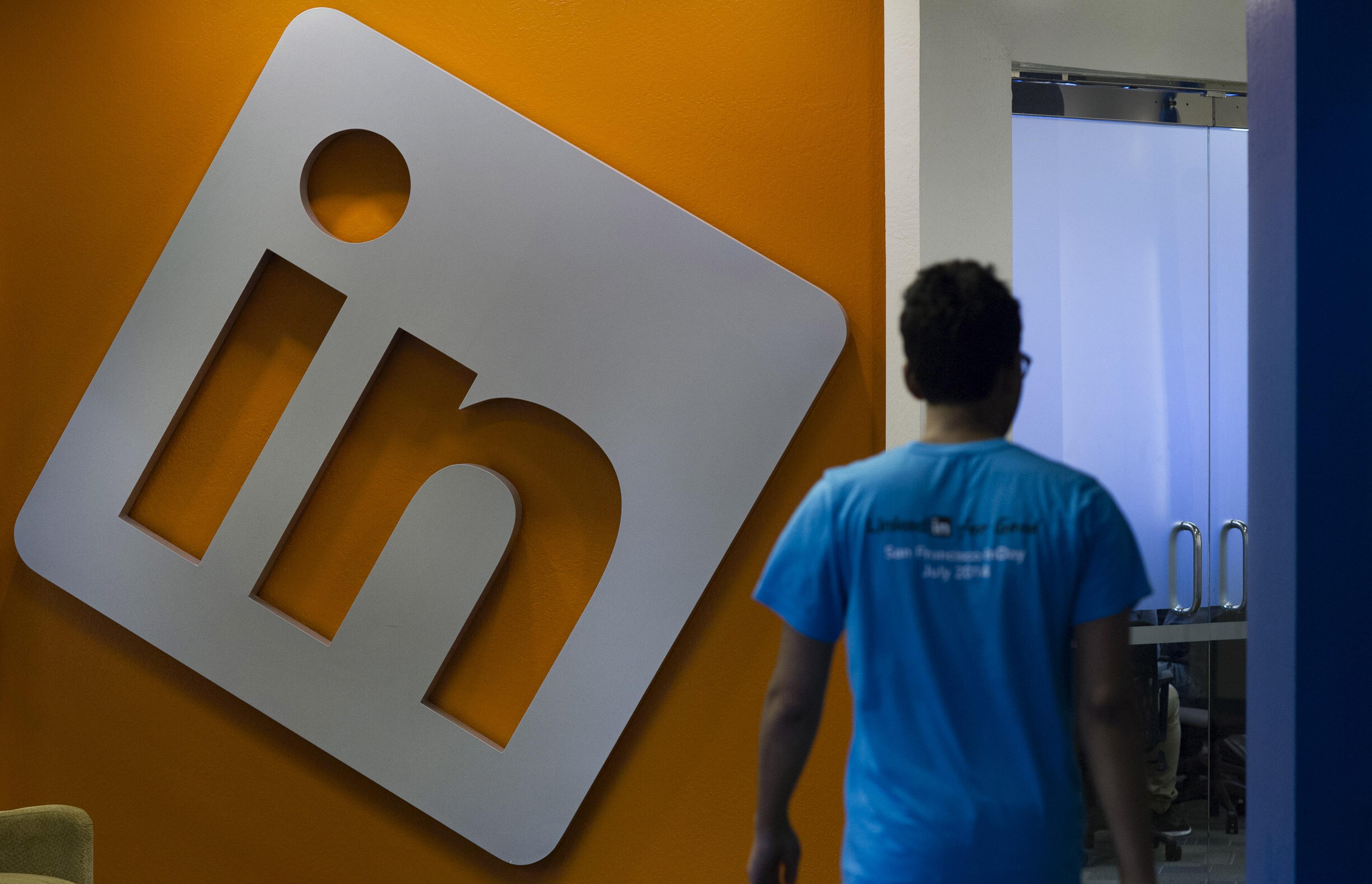 Inside LinkedIn Corp. Headquarters Ahead Of Earnings Figures