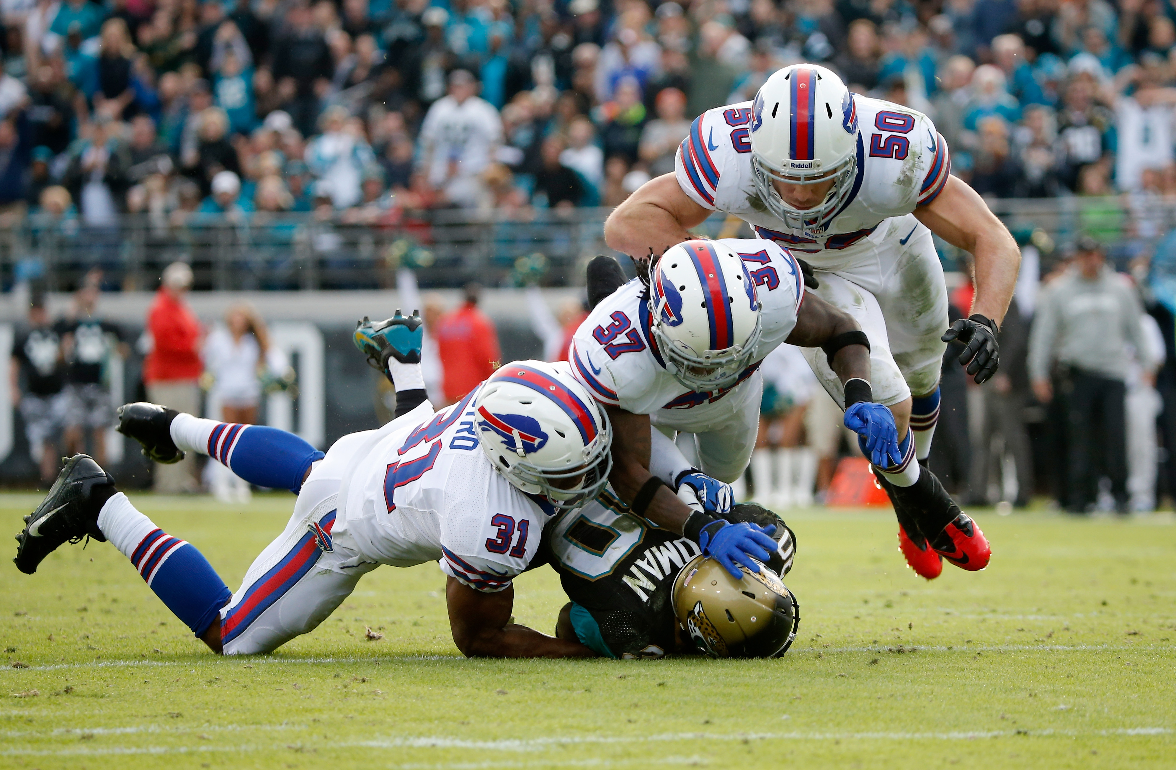 Buffalo Bills v Jacksonville Jaguars
