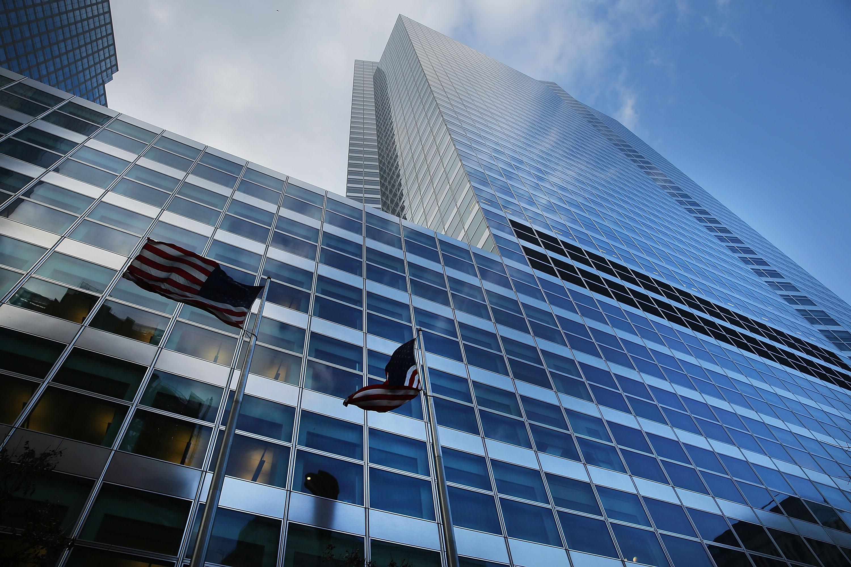 Goldman Sachs' Manhattan headquarters in New York City.
