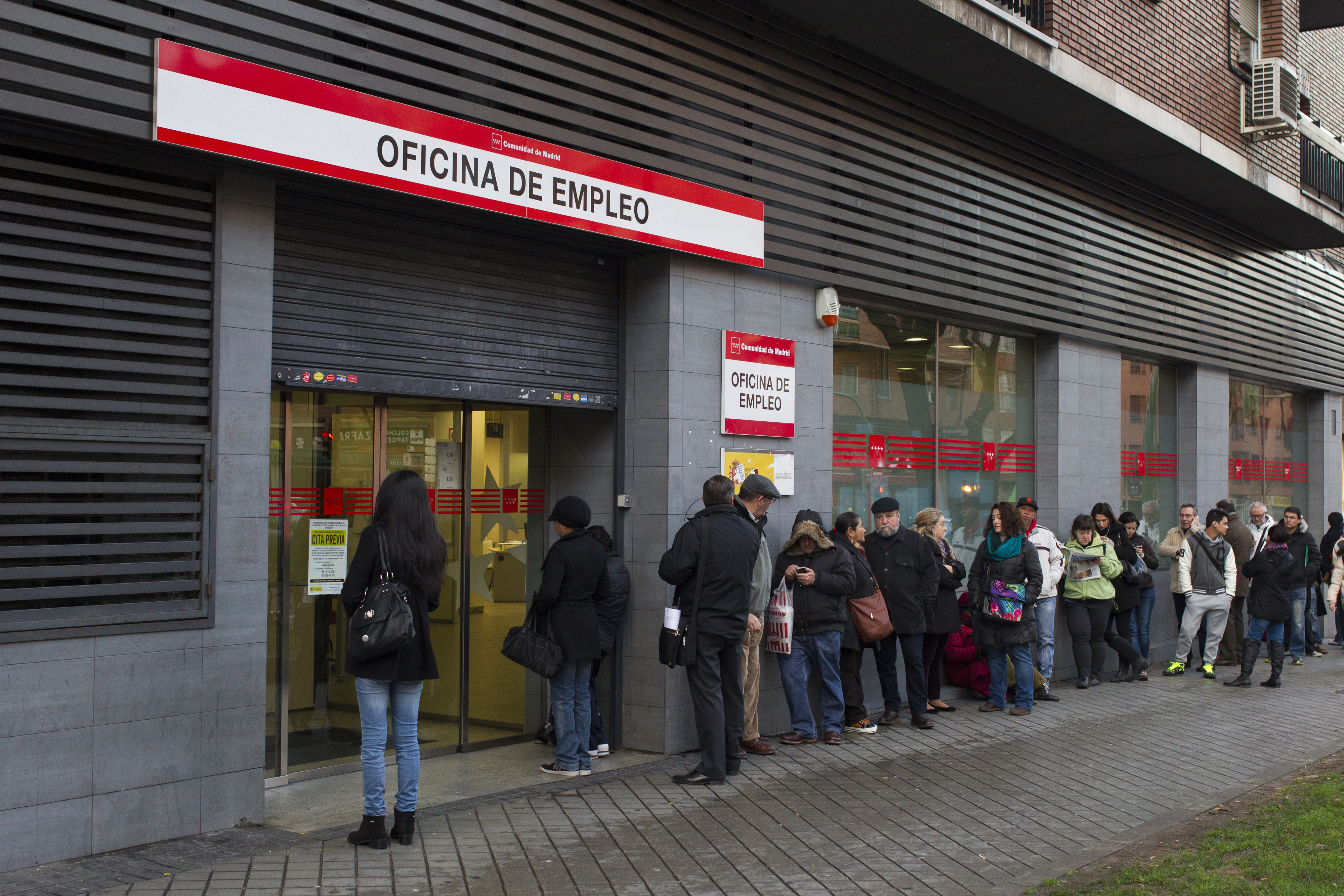 Spanish Employment Center As Worst Of Europe's Debt Crisis Ended