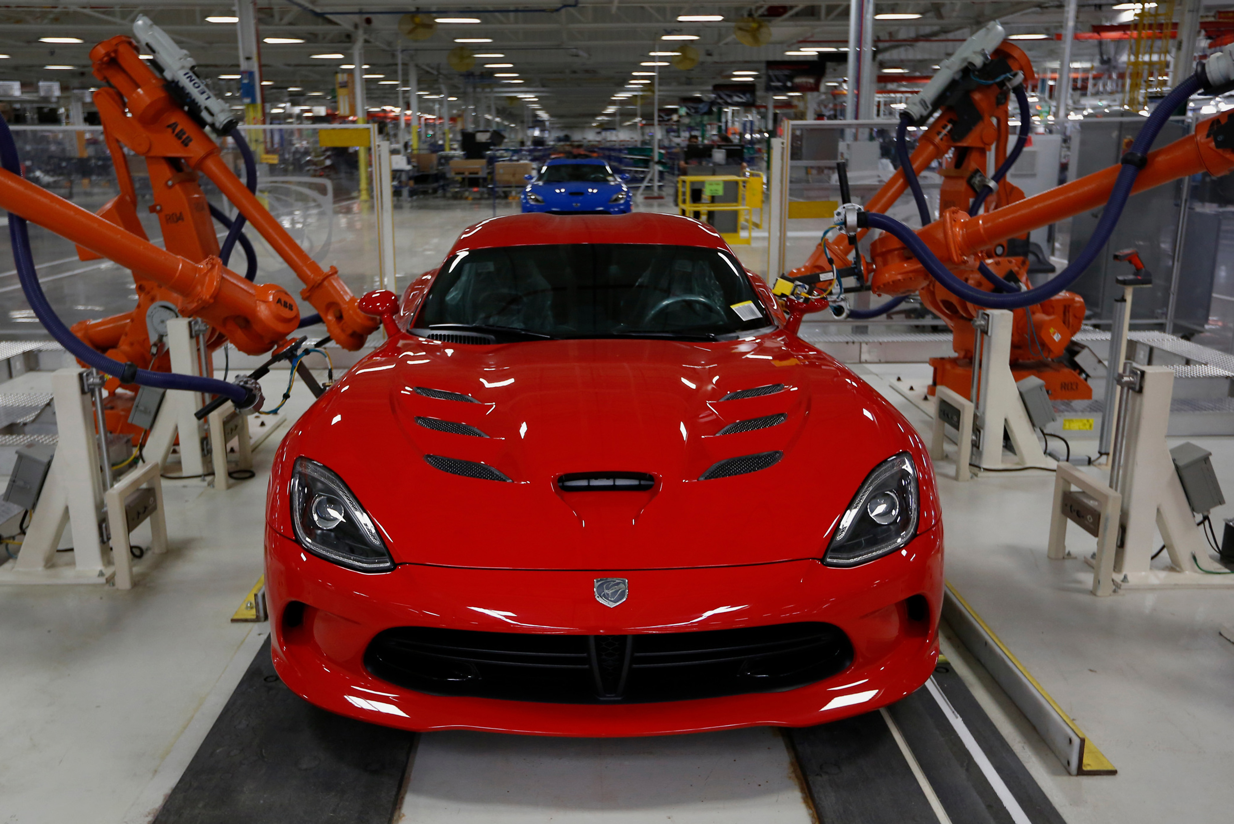 Dodge Viper Production At The FCA US Conner Avenue Assembly Plant