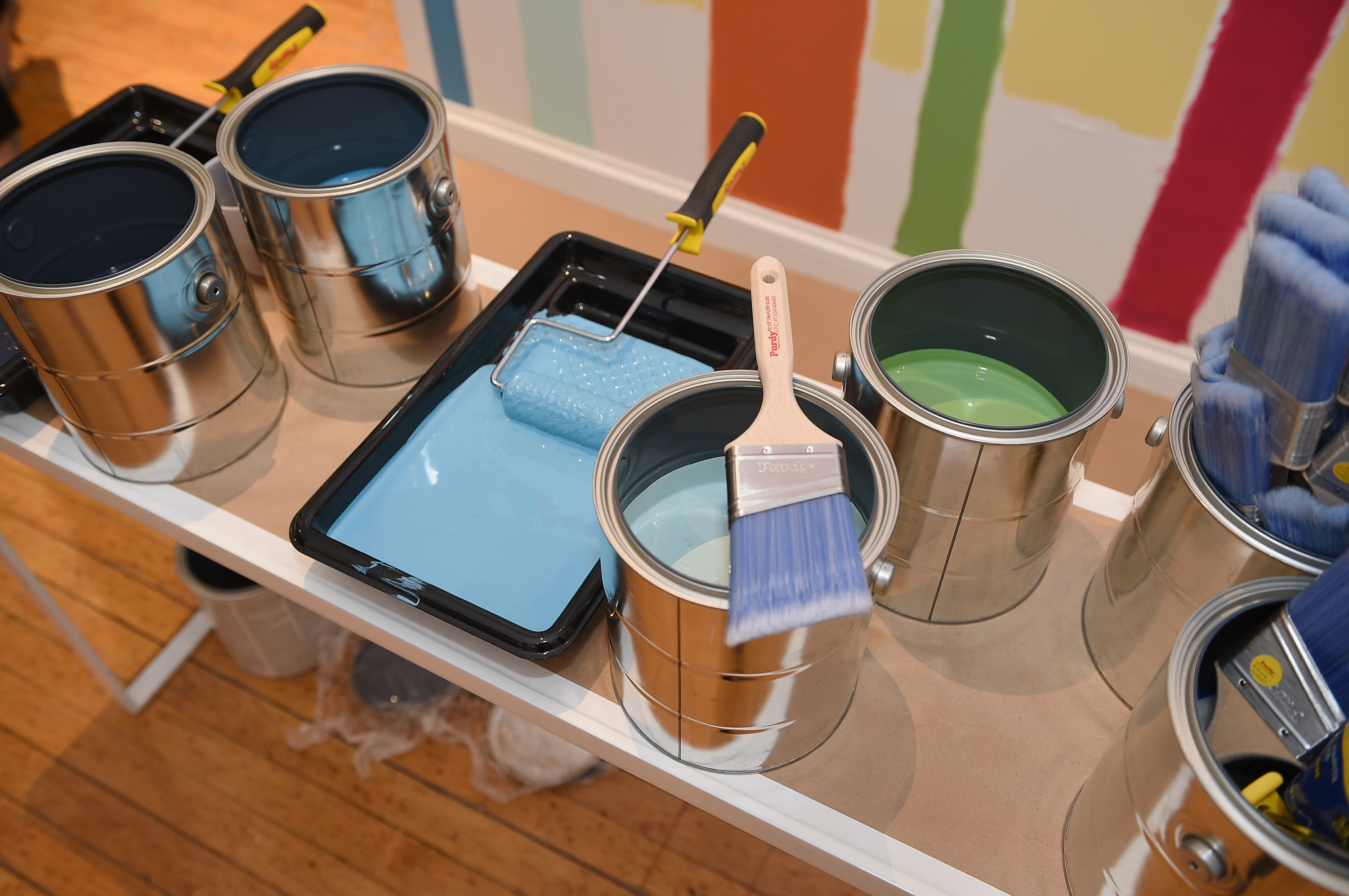 HGTV HOME By Sherwin-Williams And Lowe's NYC Press Event