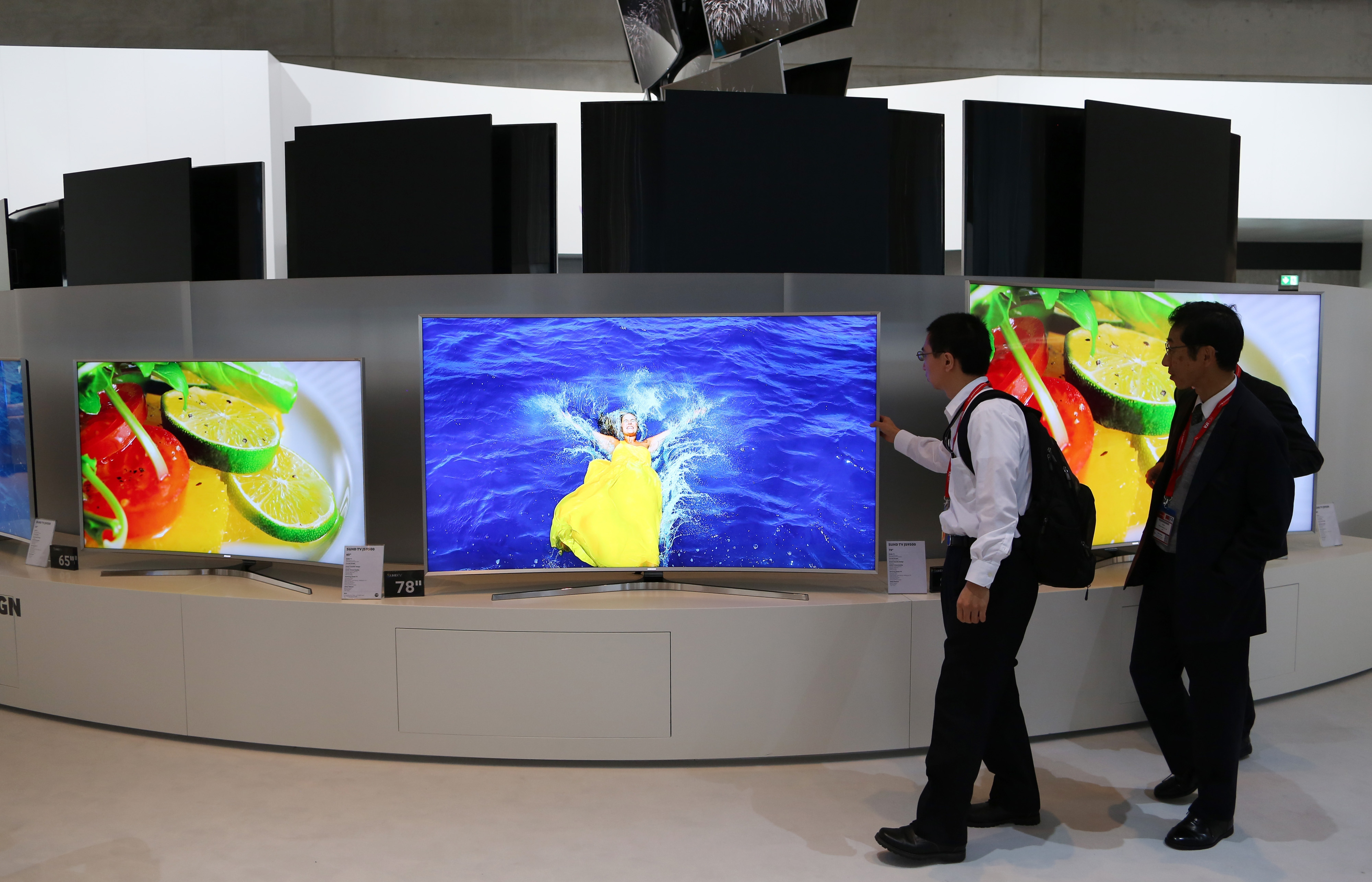 Wearable Technology And The Latest Gadgets On Display At The IFA International Consumer Electronics Show
