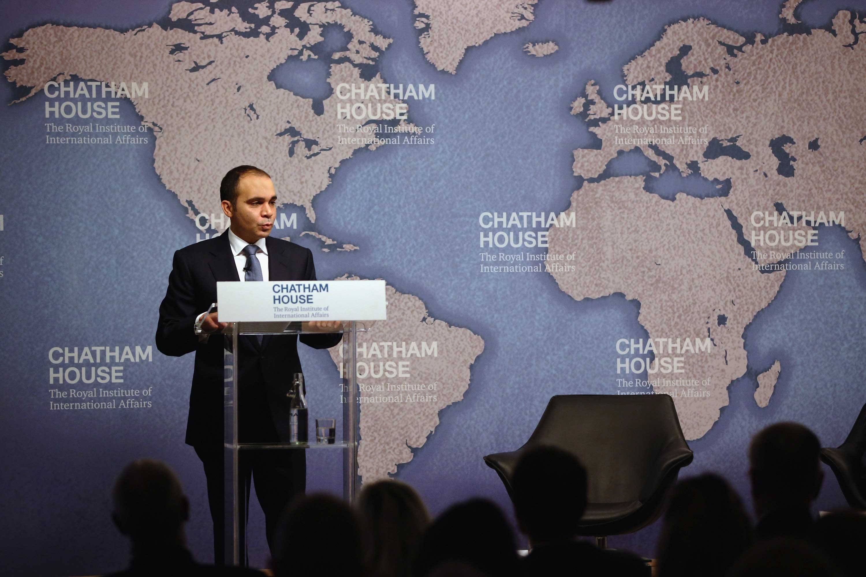 Prince Ali bin al-Hussein of Jordan Attends 'Reforming FIFA'