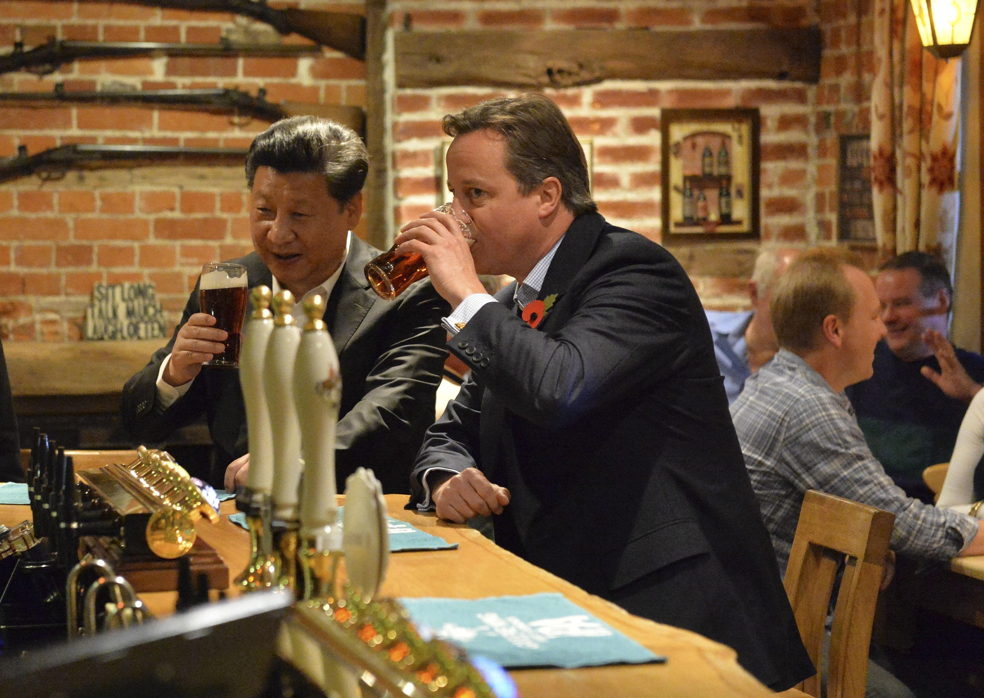 Chinese President Xi Jinping visits UK