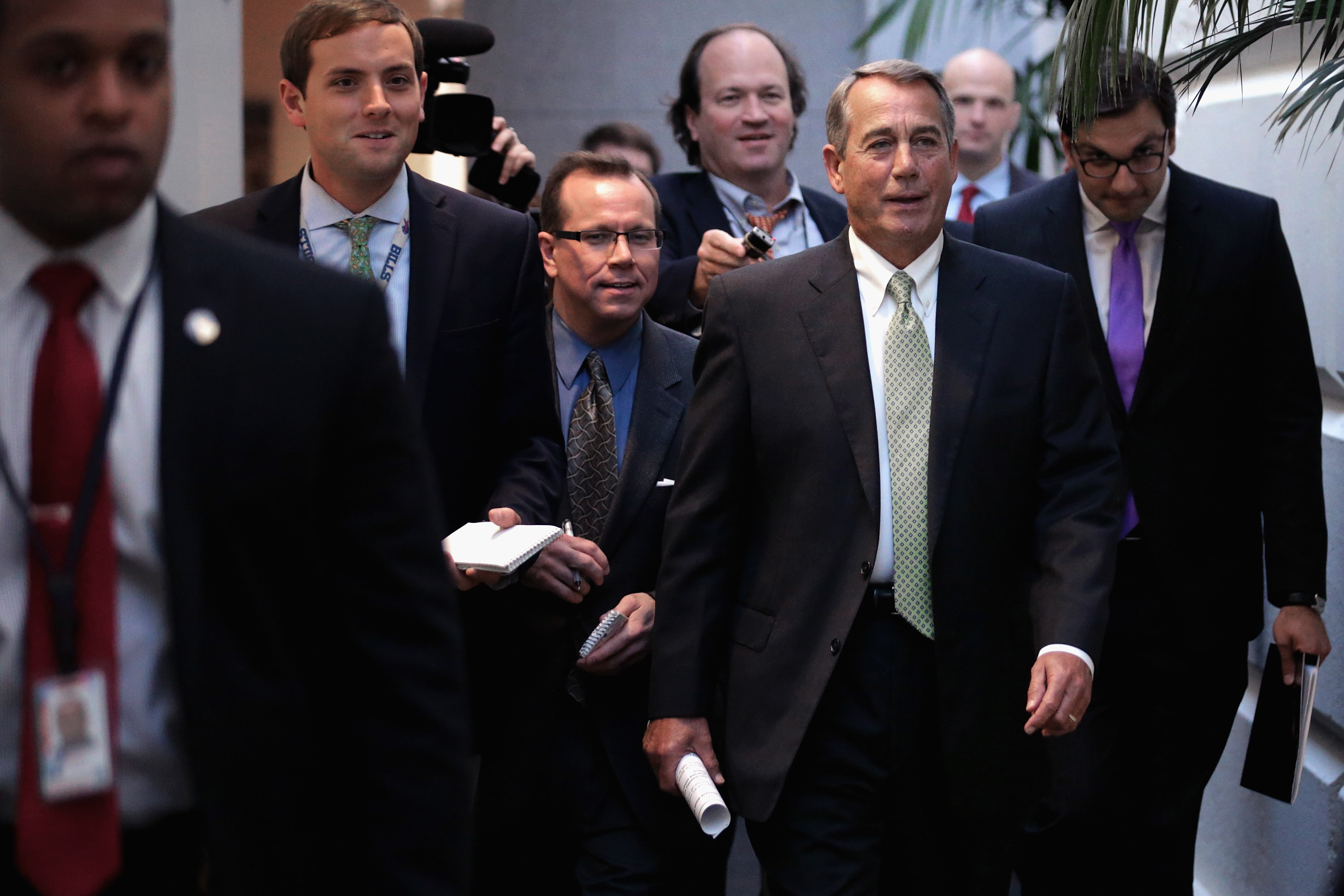 Congress, White House Close To A Deal On Budget