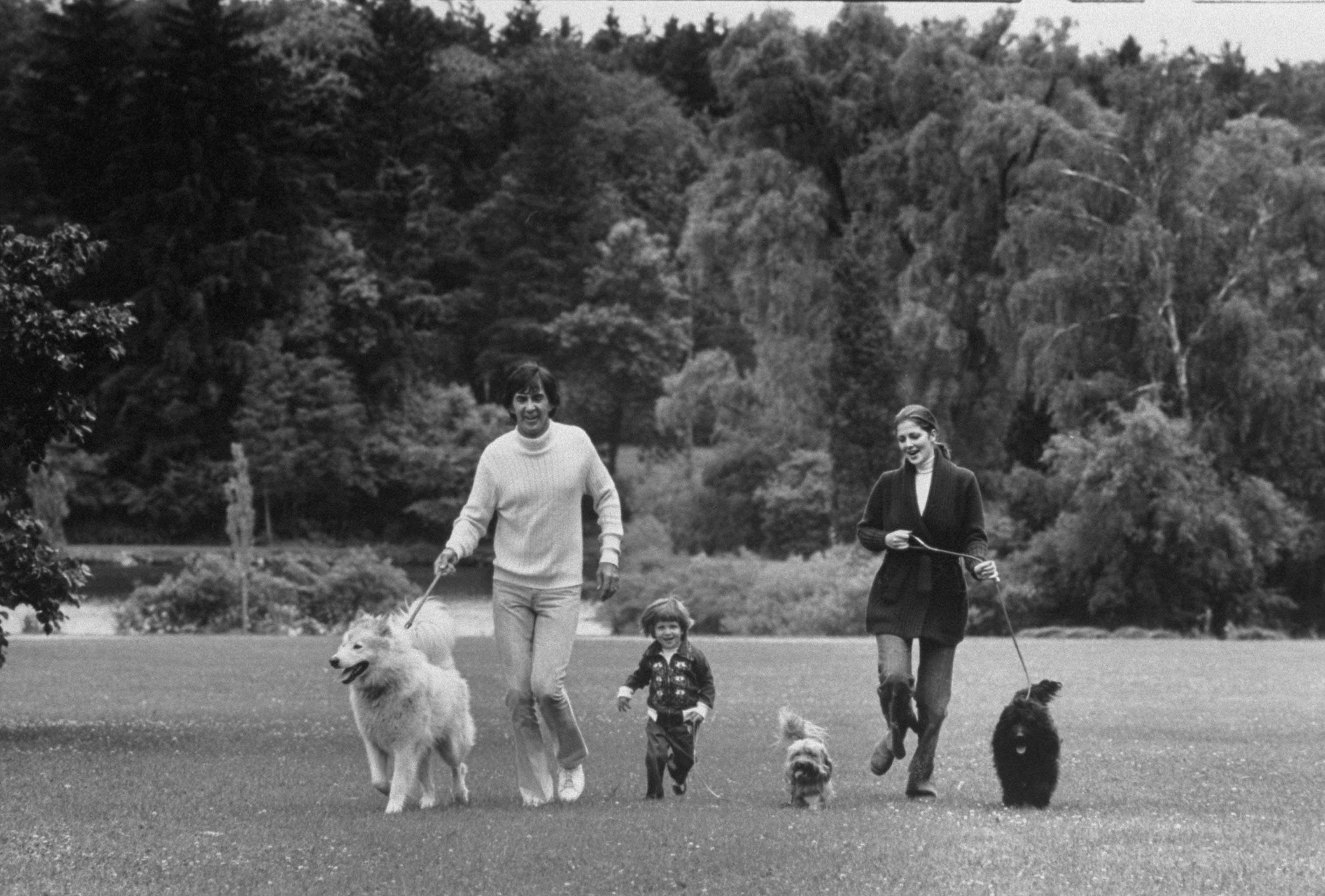 John Z. Delorean [& Family];Cristina Ferrare [& Family]