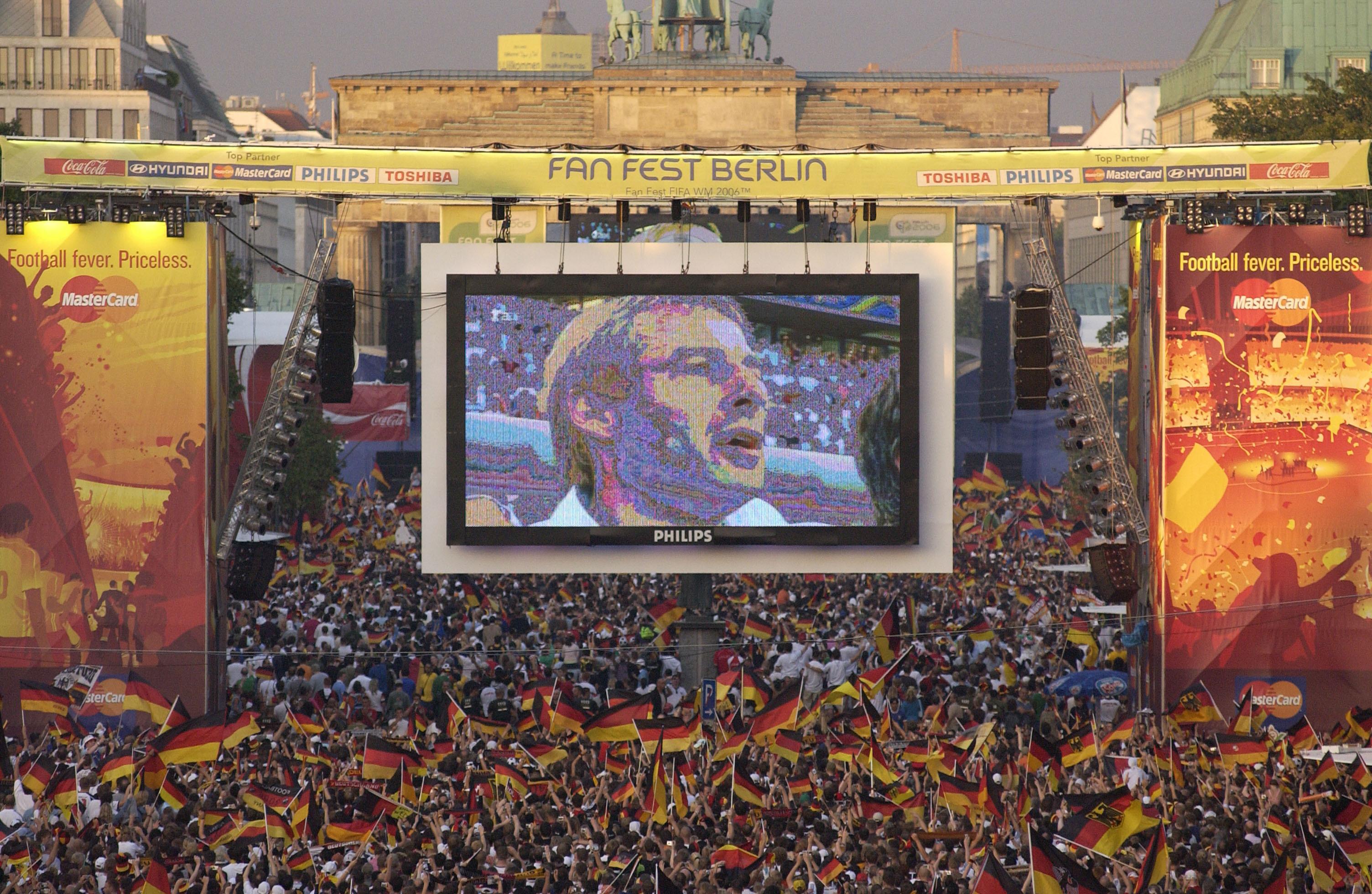 Fan Fest FIFA WM 2006 in Berlin