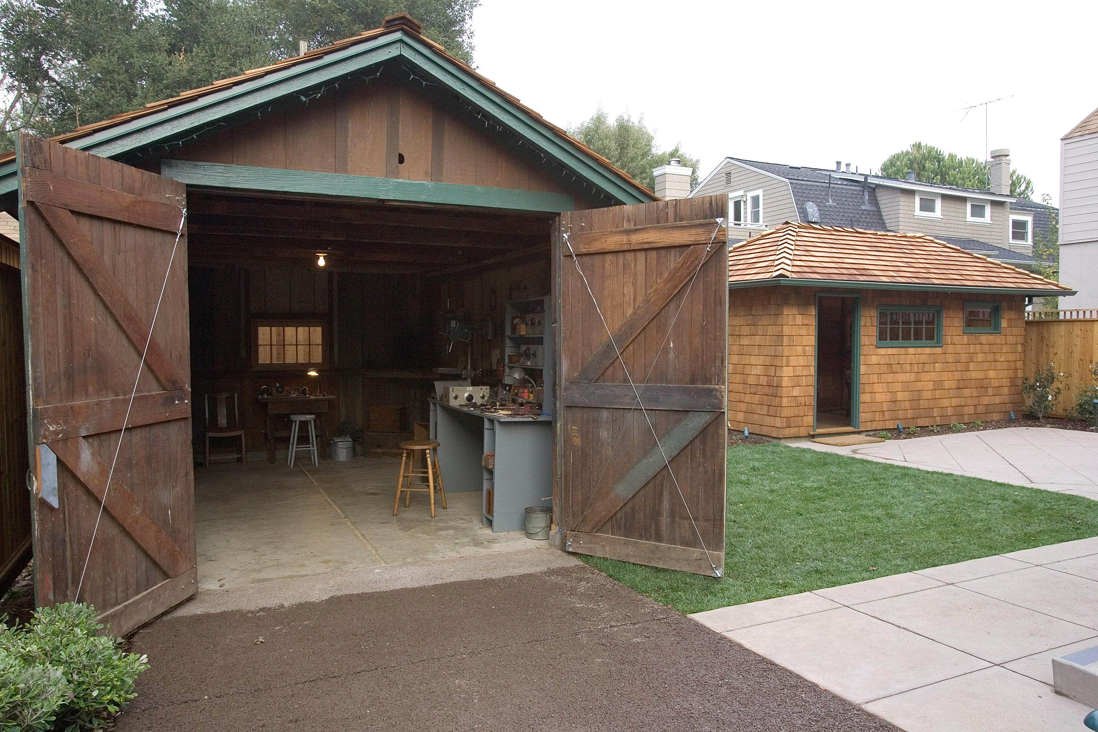 HP Restores Garage Where Techology Giant Got Its Start