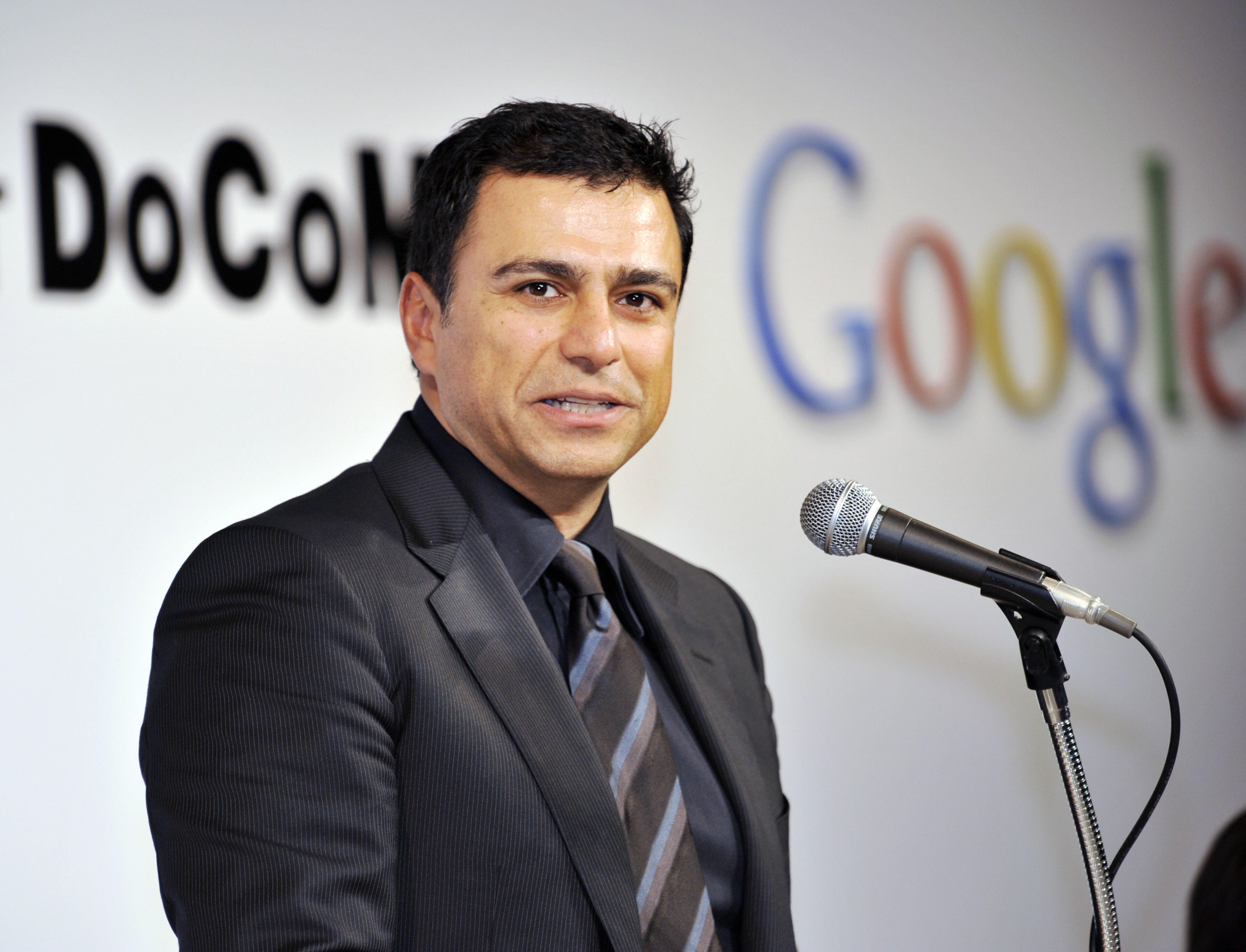 US Internet giant Google senior vice pre