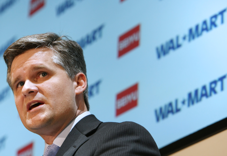 Incoming Walmart CFO Brett Biggs in 2007