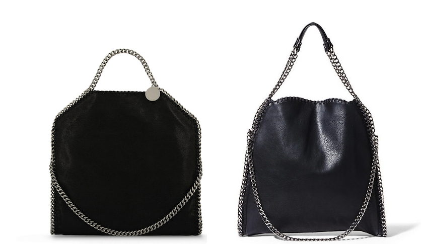 Stella McCartney and Steve Madden bags