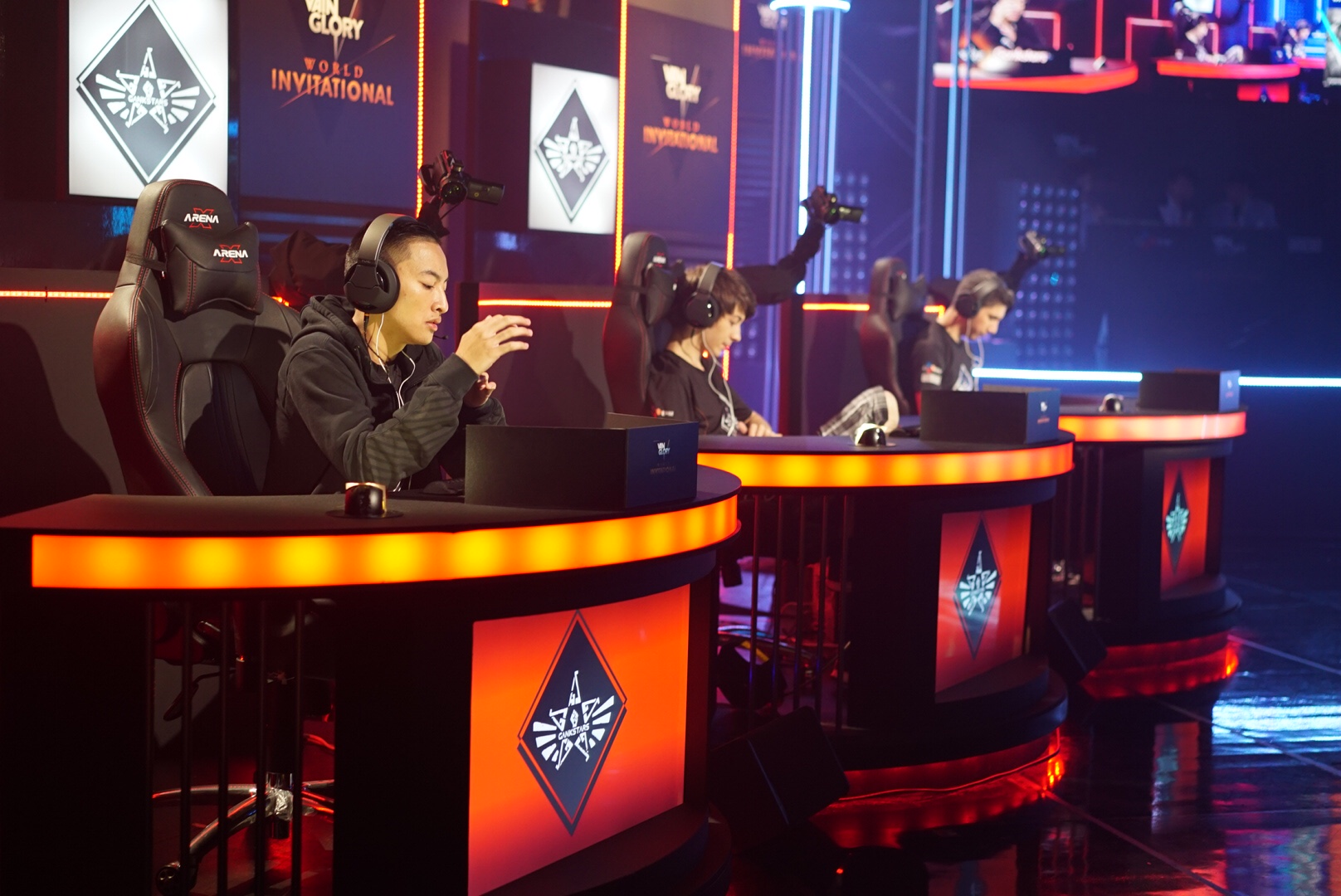 Twelve teams battled for $80,000 in Korea on the mobile eSports title, Vainglory.