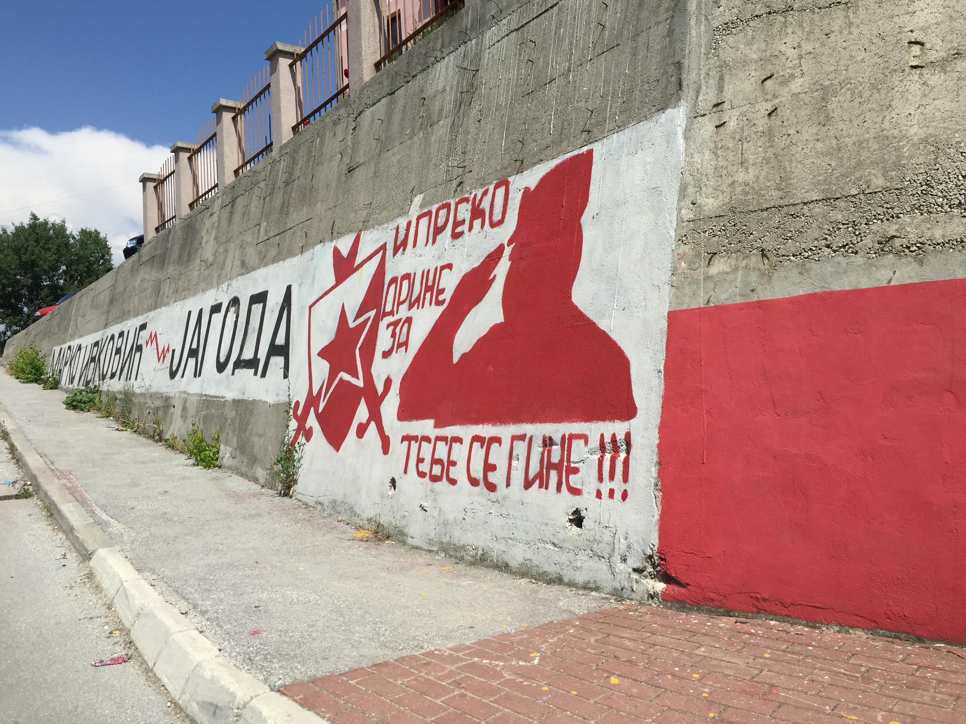 Bosnia graffiti