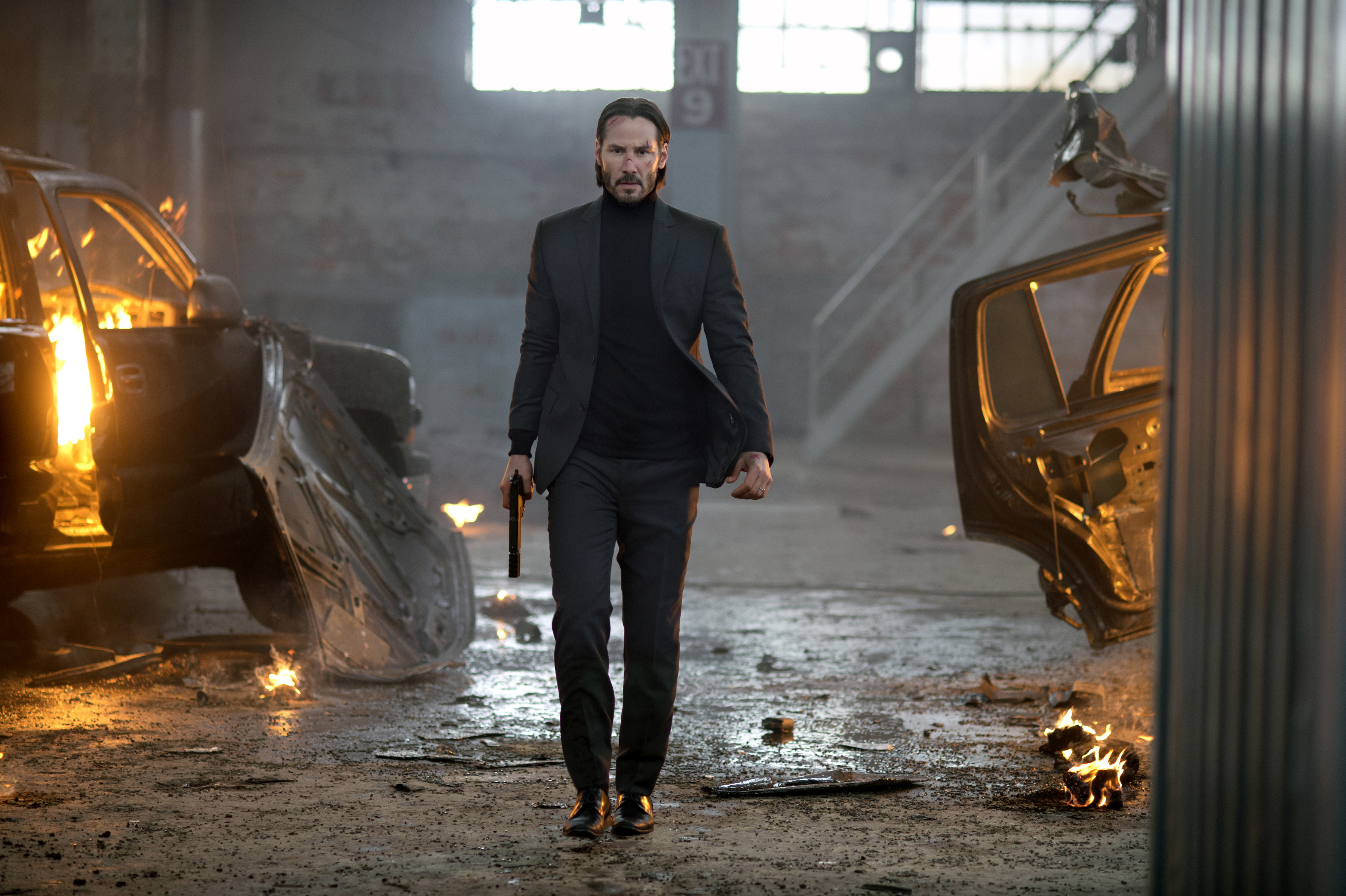 Keanu Reeves stars as a hitman out for revenge in John Wick.