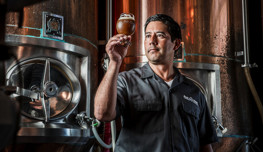 "Keith Villa, head brewmaster of Blue Moon Brewing Co., says it ""isn't a sin"" to join with a big brewer."
