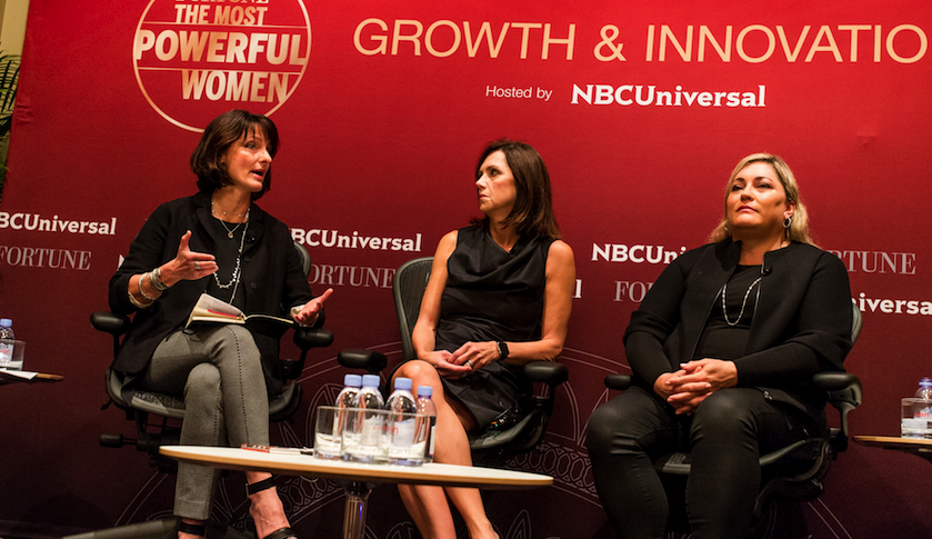 Left to Right: Regina Dugan, Beth Comstock, and Renee James
