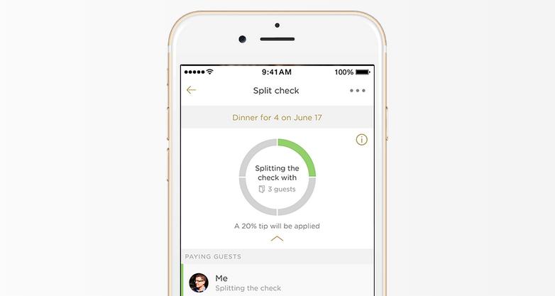 Reserve mobile app