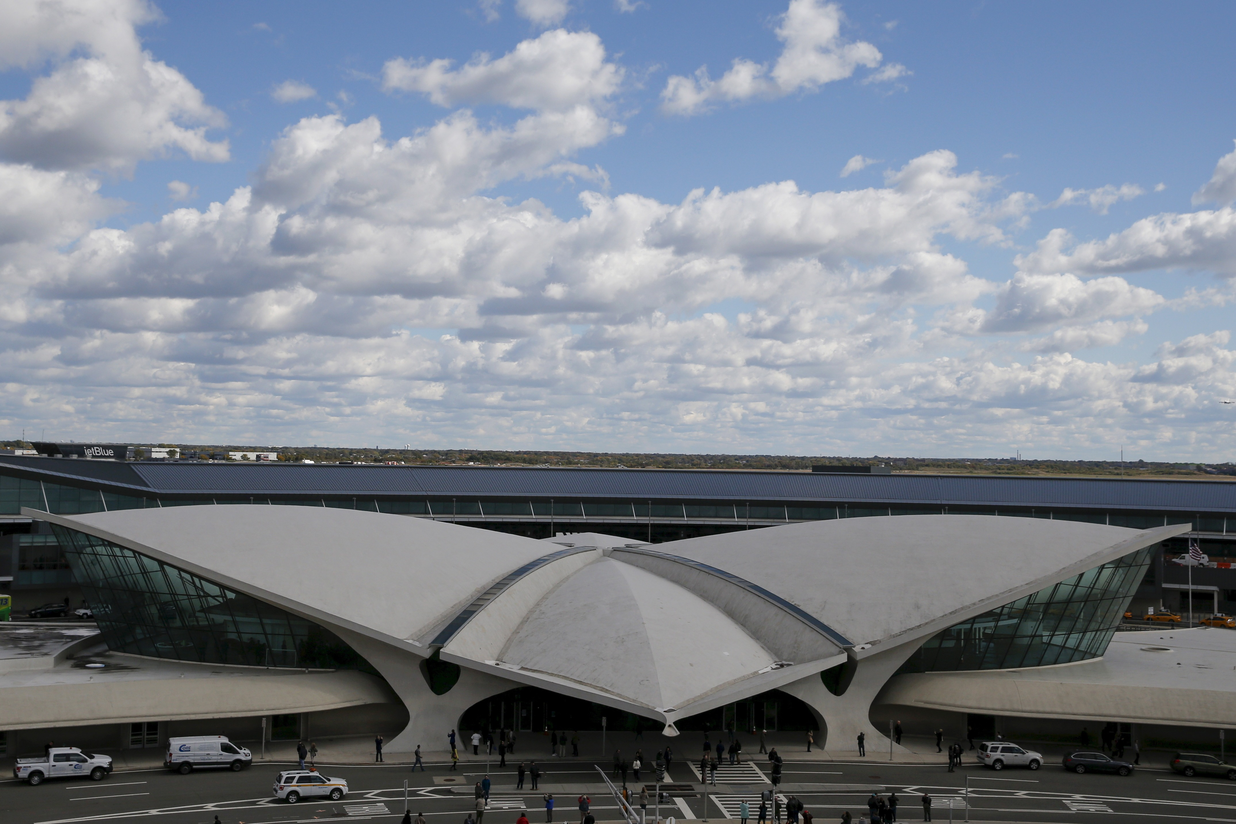 Trans World Airlines Flight Center is seen at John F. Kennedy Airport in the Queens borough of New York