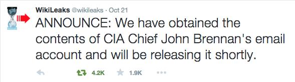 WikiLeaks CIA screenshot 2015