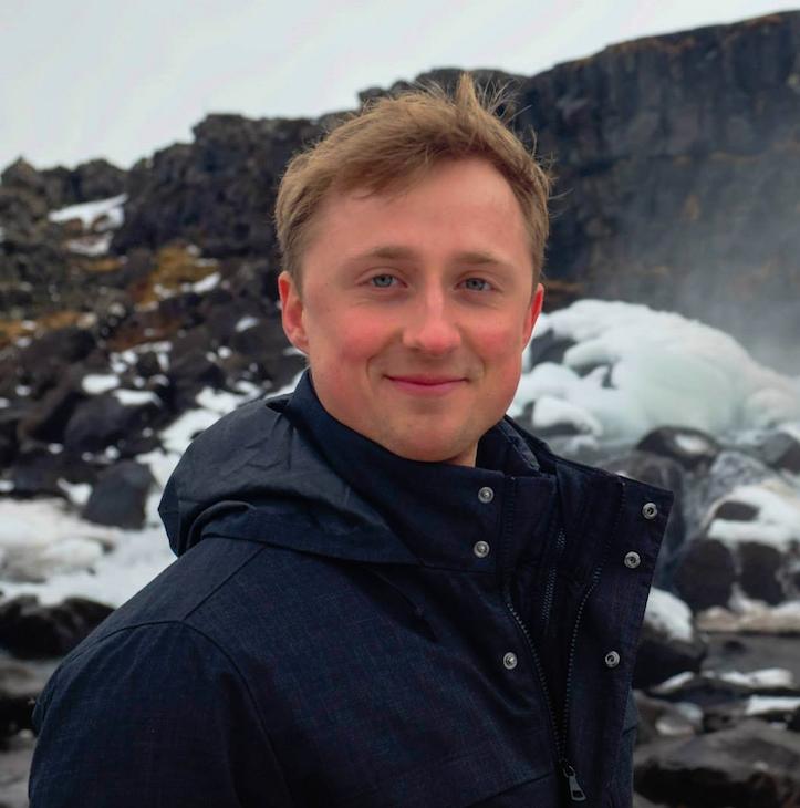 Michael Gasiorek, editor-in-chief of Startup Grind