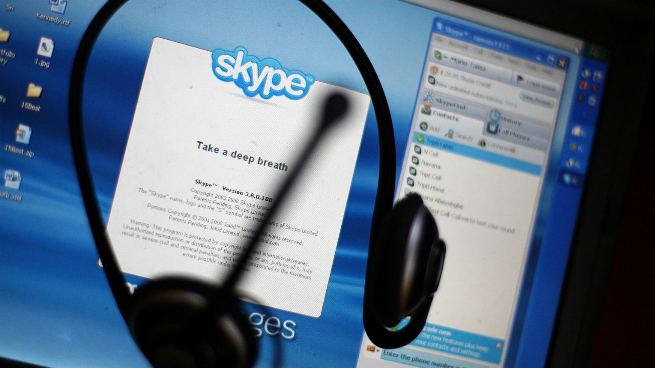 Skype Closed Captioning