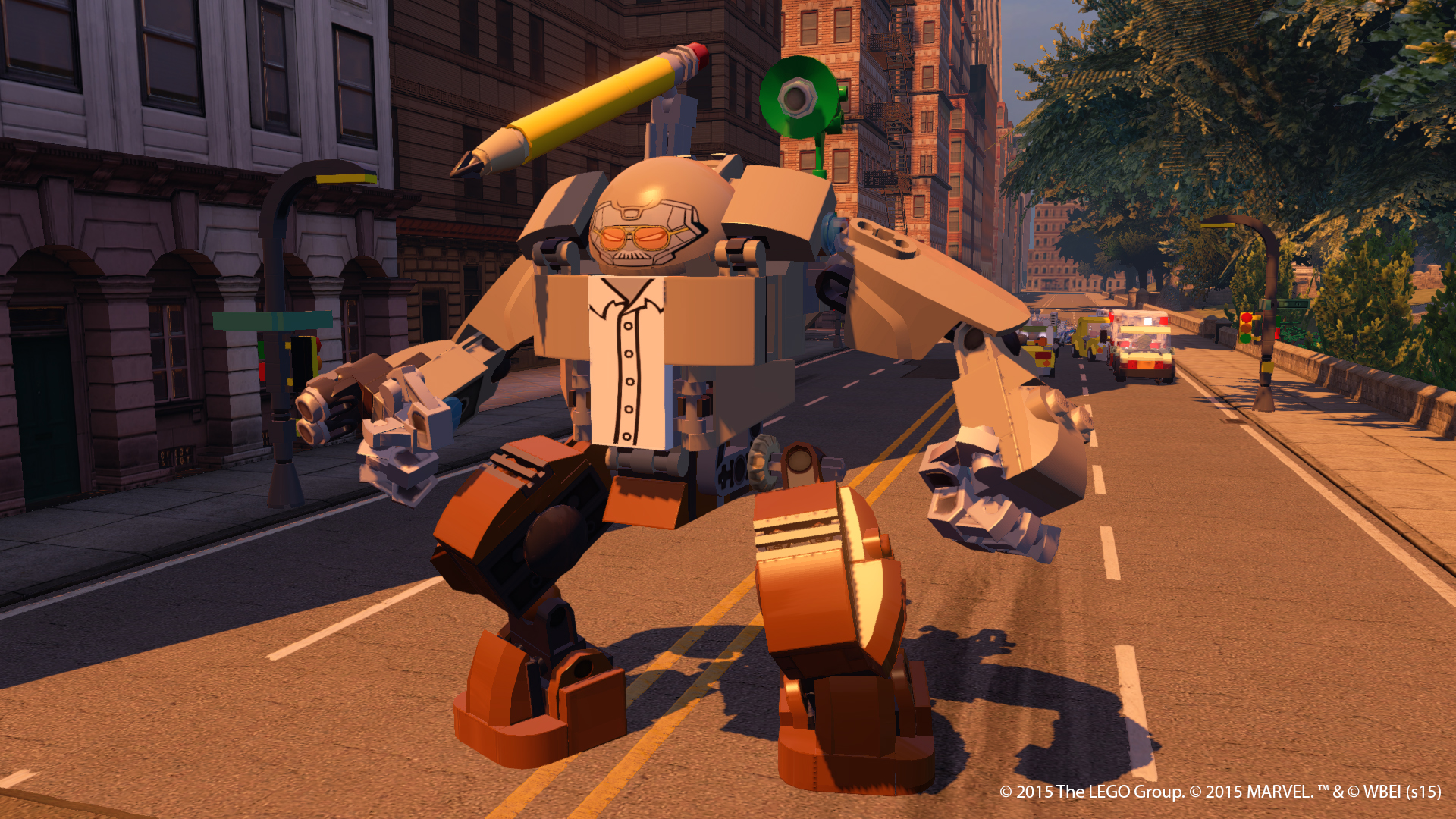 Stan Lee is a playable character in the new Lego Marvel's Avengers game.