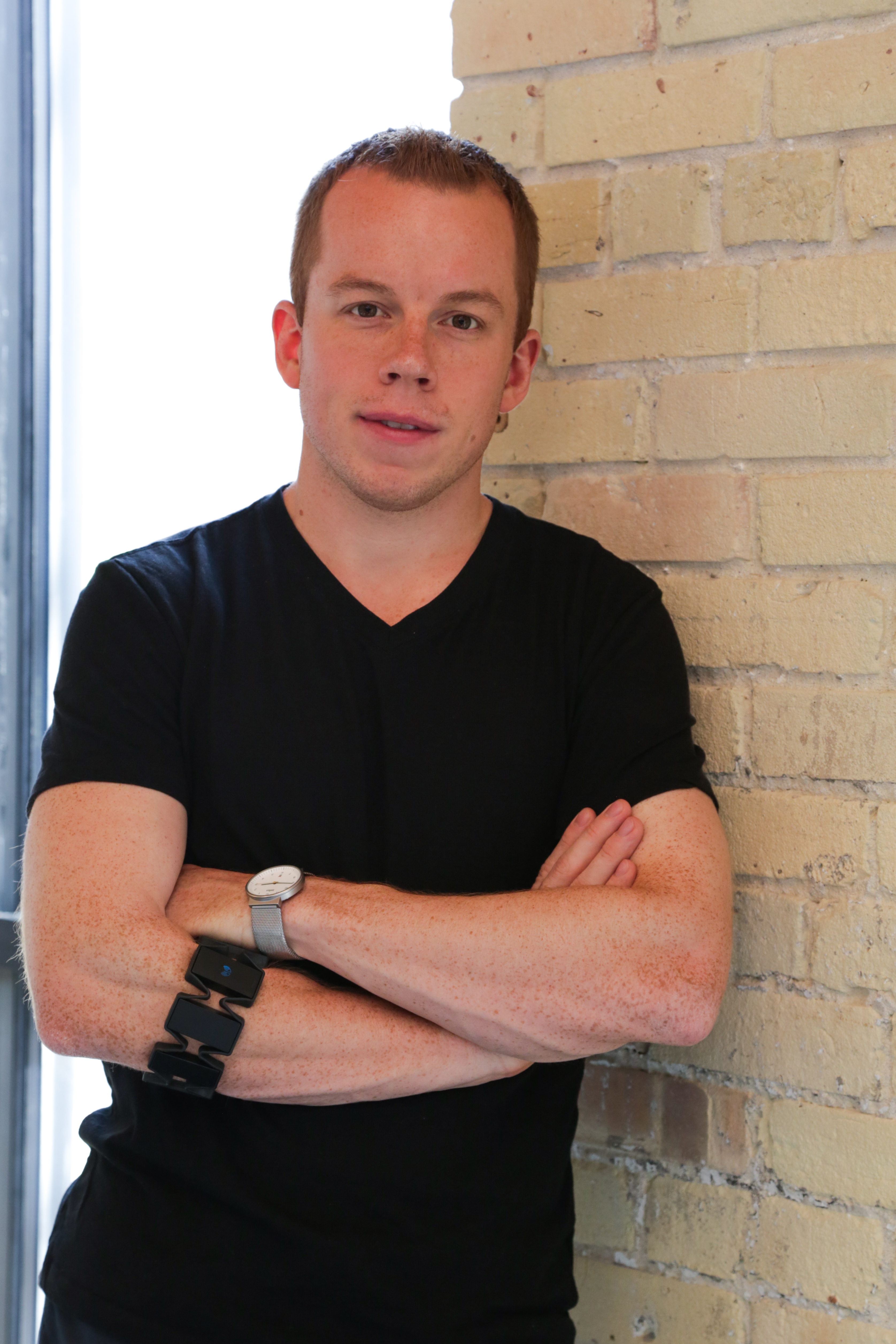 Stephen Lake, cofounder and CEO of Thalmic Labs