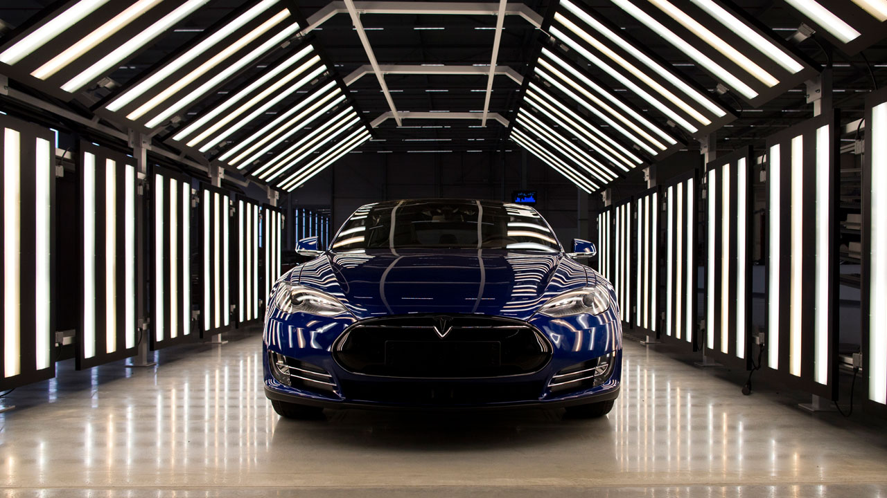 Electric motors, like the one in this Tesla Model S, have gas engines beat in just about every category there is, a former Tesla drivetrain developer says.