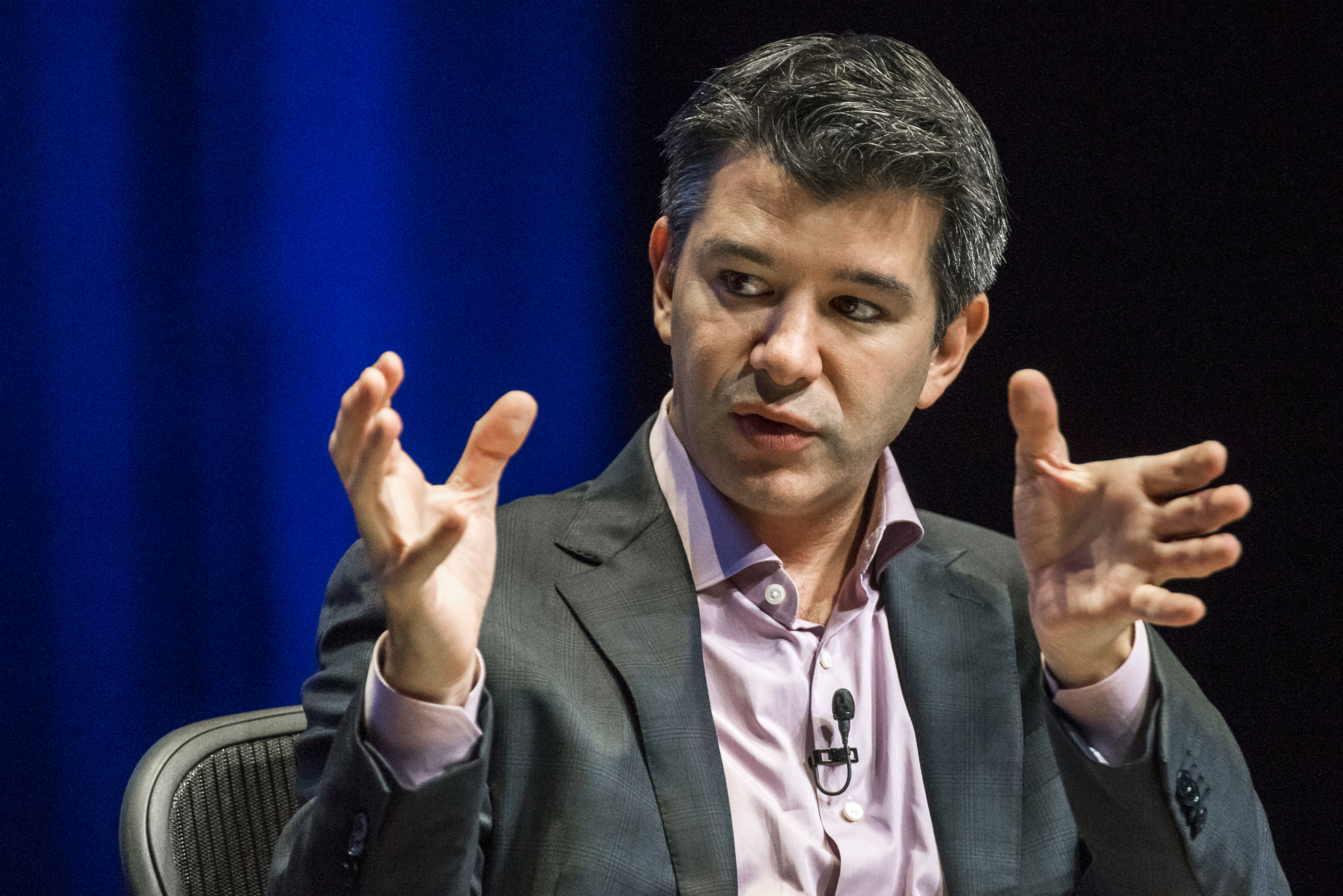 Travis Kalanick, CEO of Uber