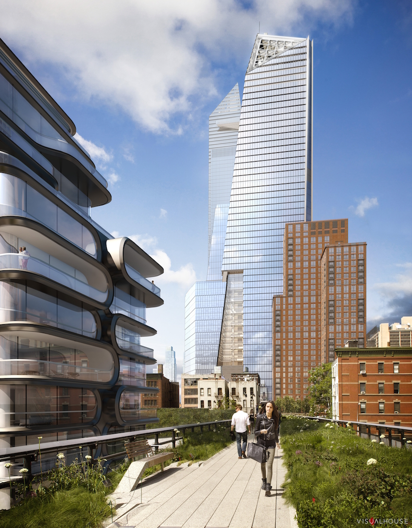 A rendering of 10 Hudson Yards, BCG's future New York home