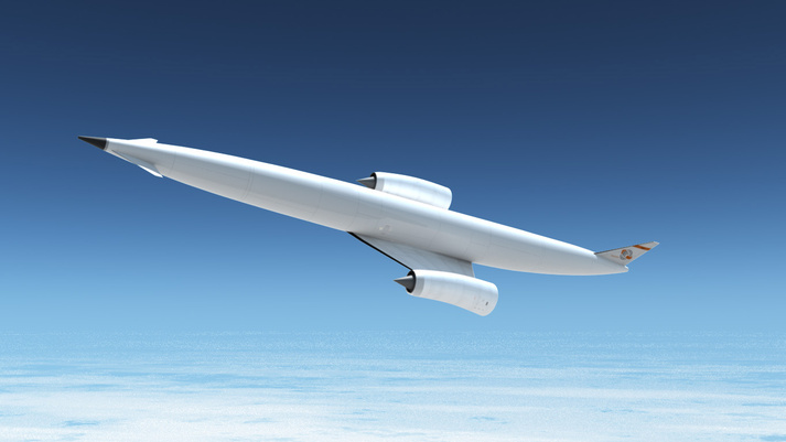 The Skylon, a conceptual spaceplane envisioned by Reaction Engines, could one day be powered by the company's SABRE engine technology.