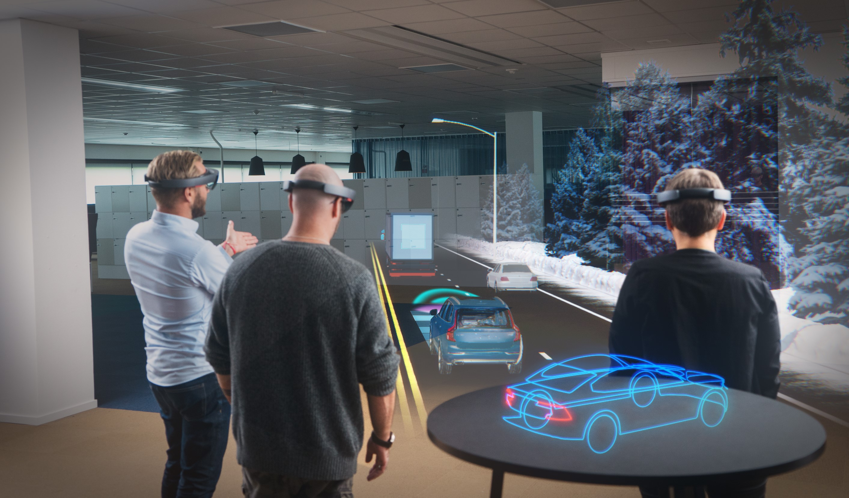 Microsoft HoloLens Headset Not Getting an Update Until 2019