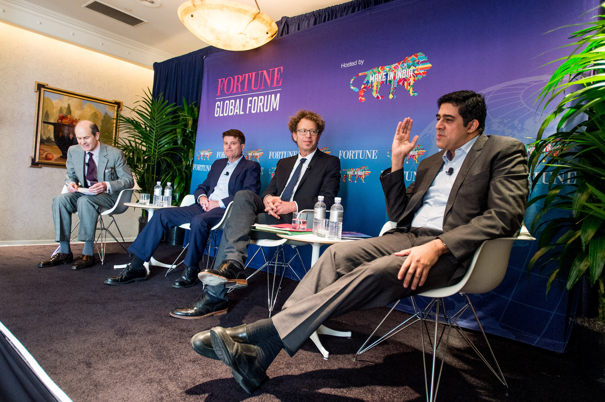 FORTUNE GLOBAL FORUM Wednesday, November 4th, 2015 2015 FORTUNE GLOBAL FORUM  San Francisco, CA, USA  Geoff Colvin, Fortune; Martin Ford, Author, The Rise of the Robots: Technology and the Rise of the Jobless Future; Ken Goldberg, Professor of Engineering and Director, People and Robots Initiative, University of California, Berkeley; Rajan R. Navani, Vice Chairman & Managing Director, Jetline Group of Companies