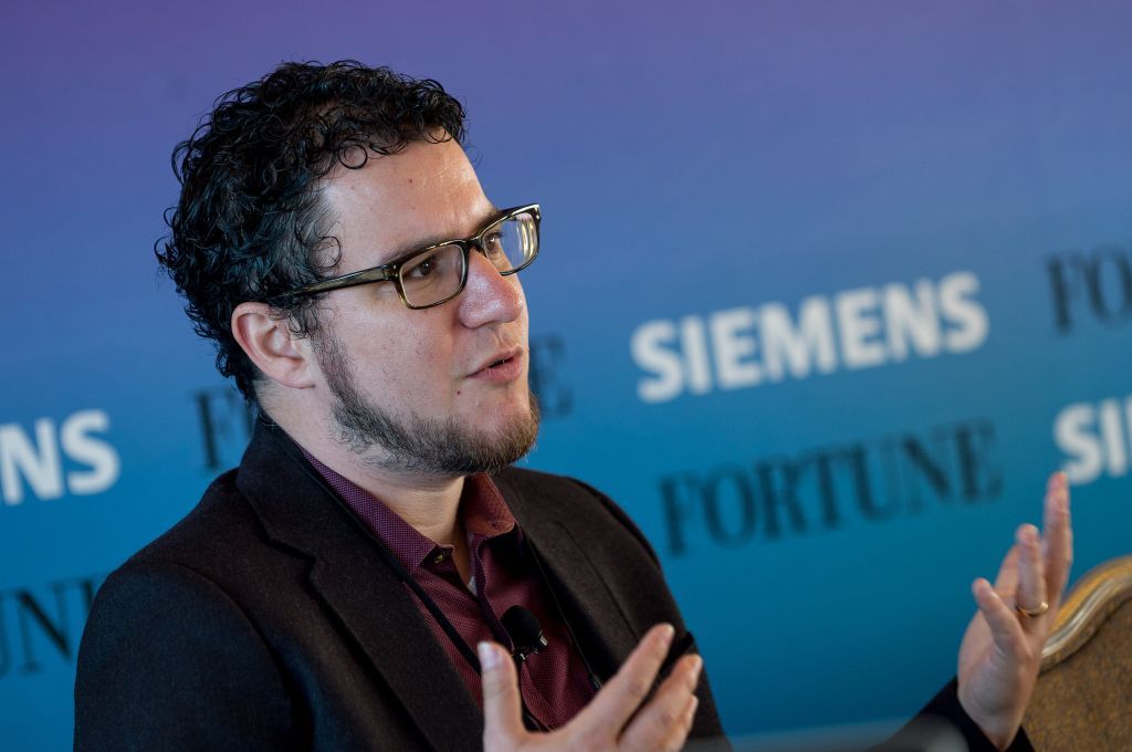 "Eric Ries, author of ""The Lean Startup,"" shares some key innovation lessons at Fortune's 2015 Global Forum in San Francisco, Nov. 3."