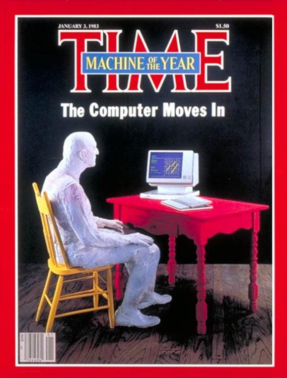 Стив Джобс в статье журнала Time, 1983 год