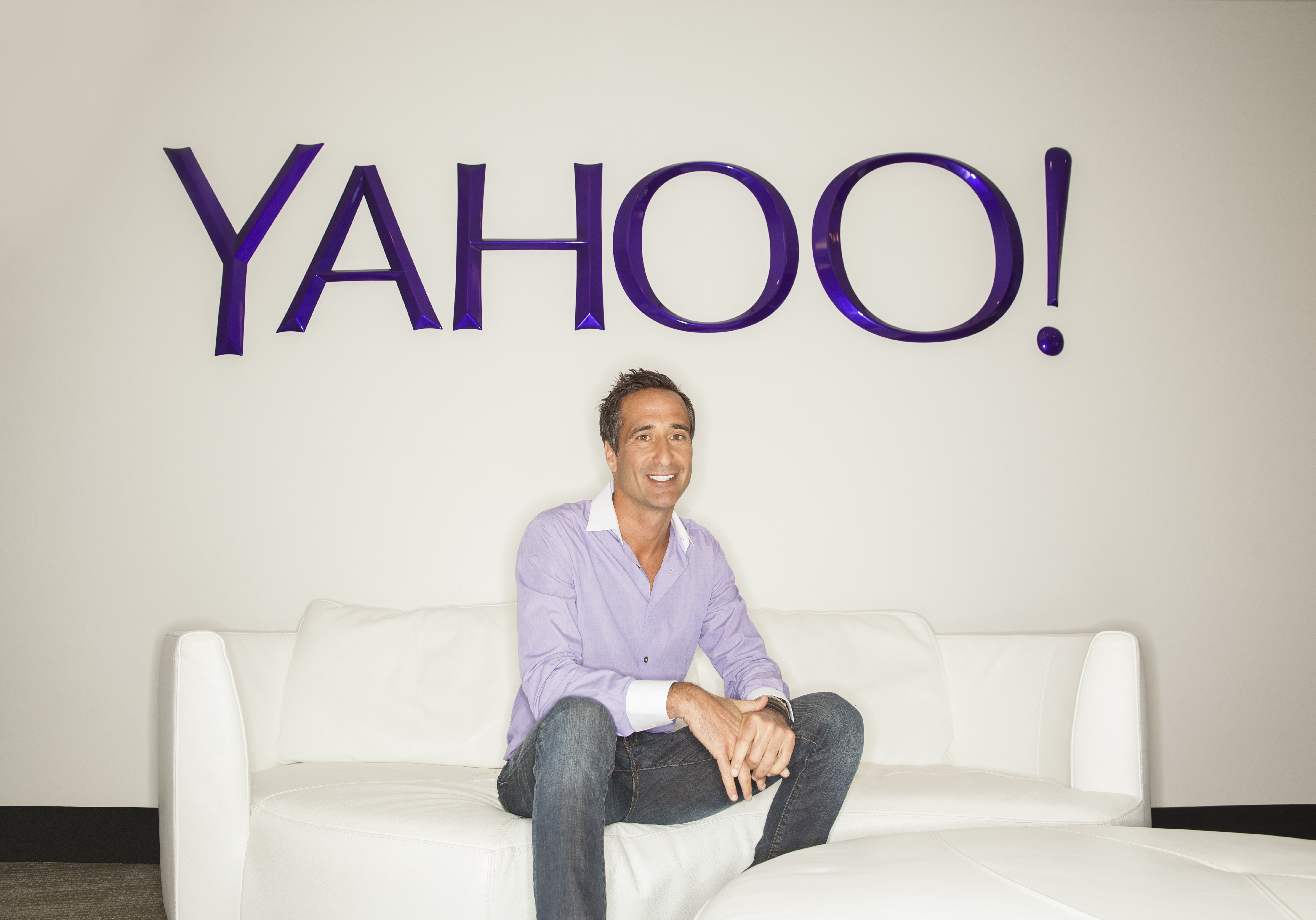 Adam Cahan, SVP of video, design, and emerging offerings at Yahoo