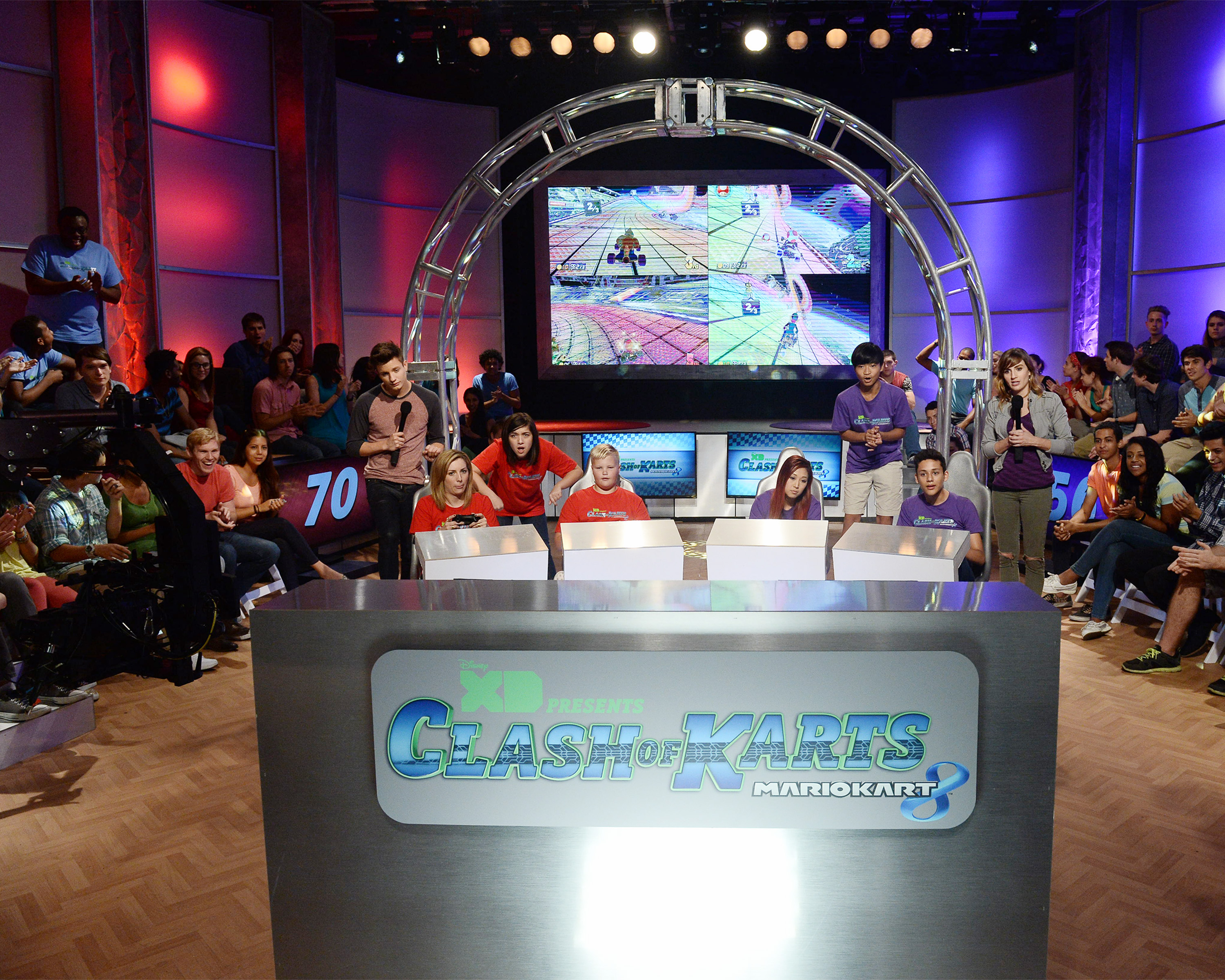 "Disney XD introduces a new eSports take with the TV special ""Clash of Karts: Mario Kart 8."""