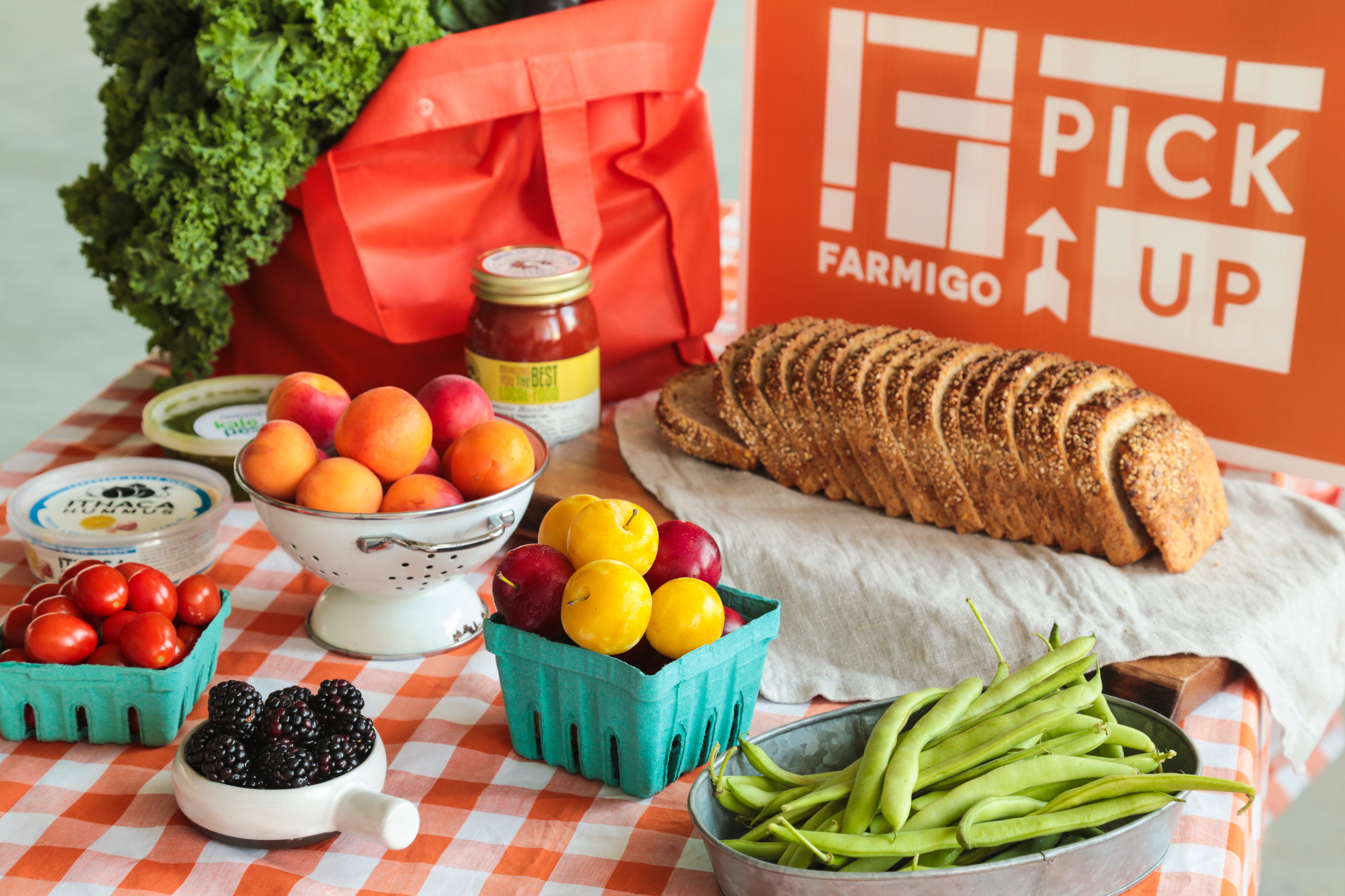 Some of the farm-to-table products sold by Farmigo