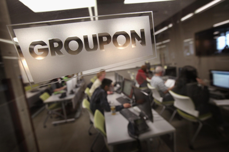 Groupon office engraving